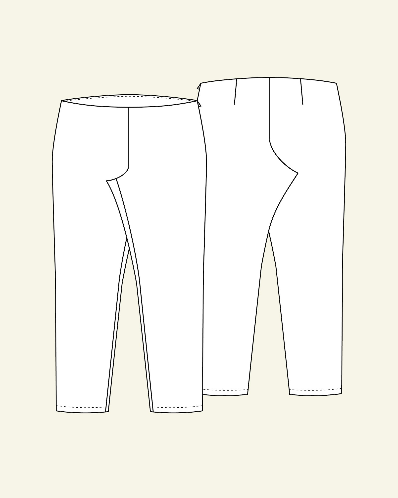 Trousers, 46/18
