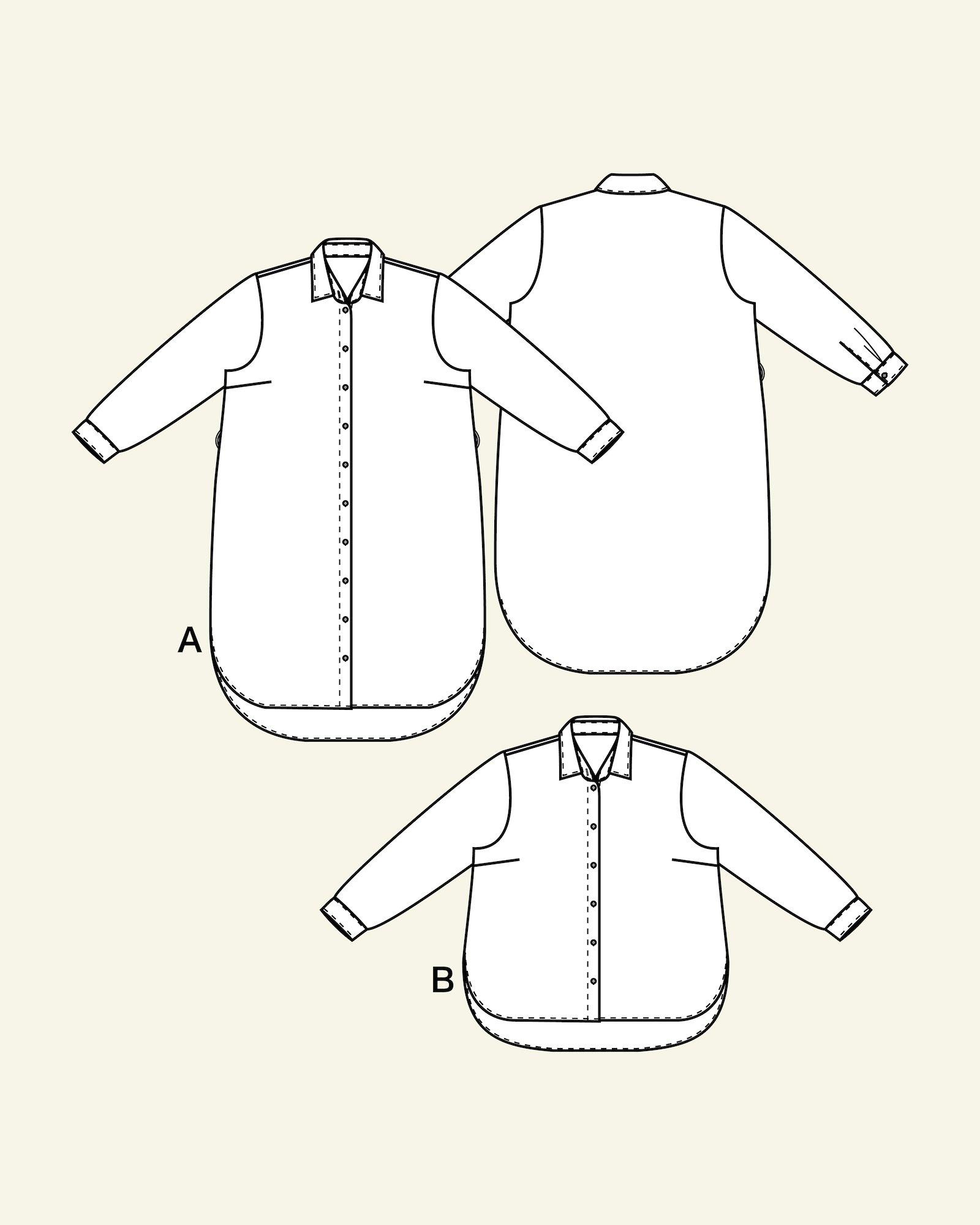 Shirtdress and shirt, 46/18