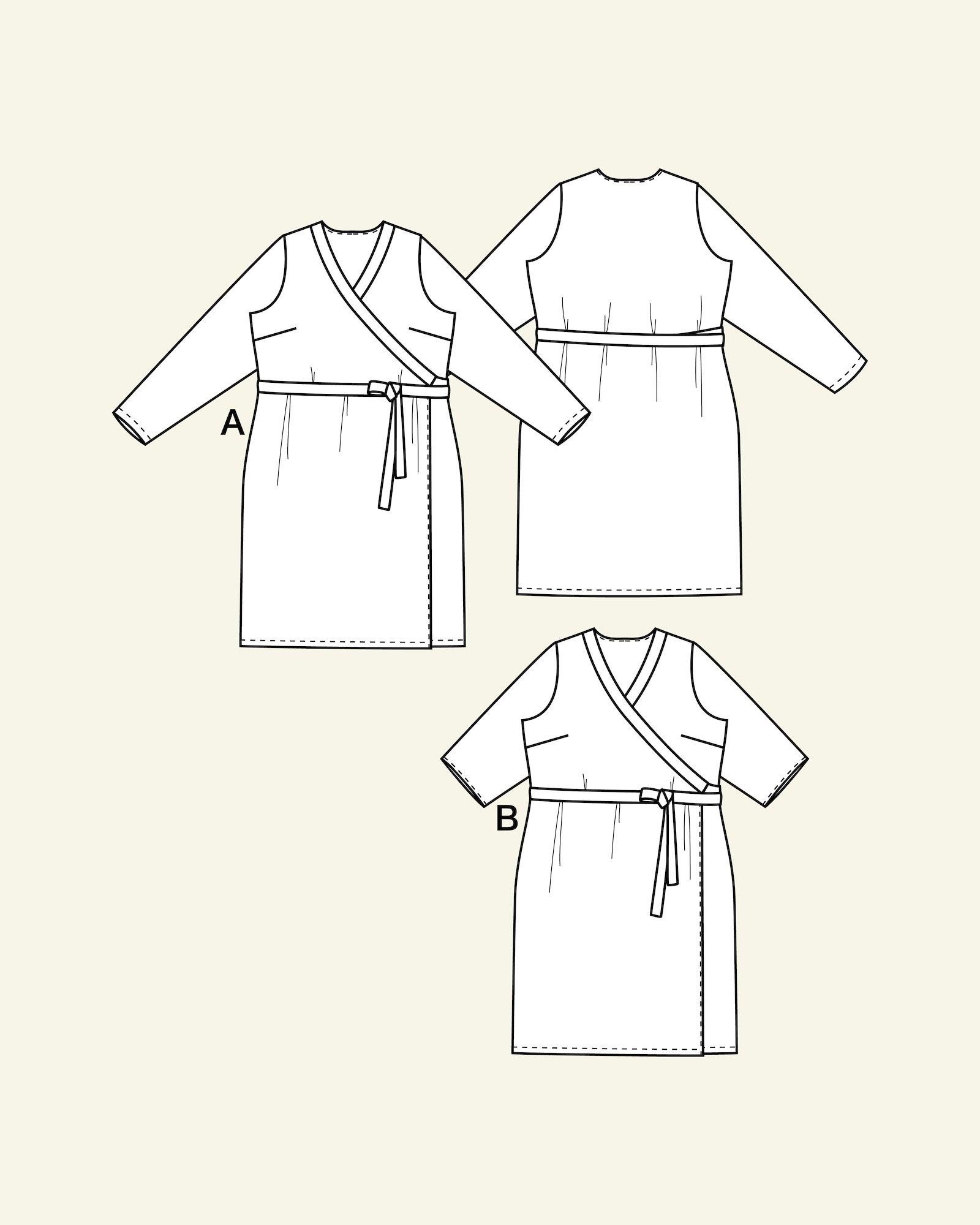 Wraparound dress, 46/18
