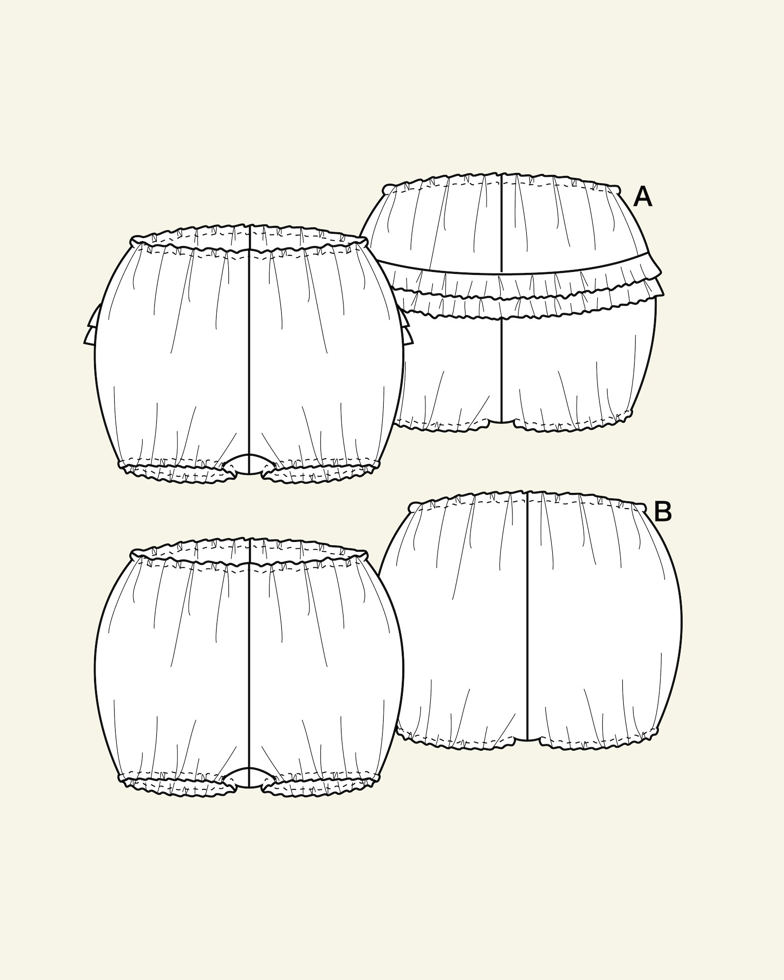 Bloomers, 56/0m