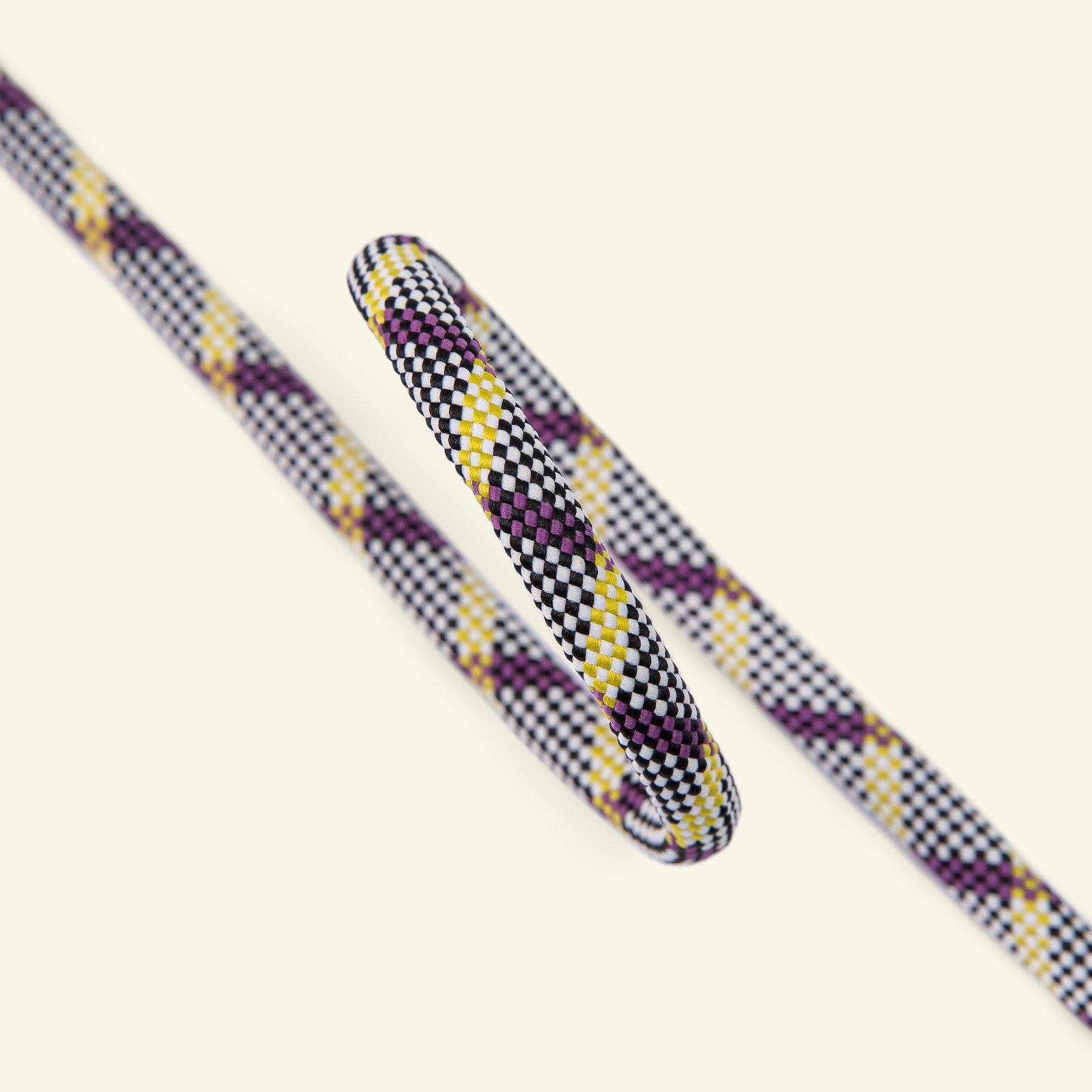 Parachute cord check 8mm purple/lemon 3m 22276_pack
