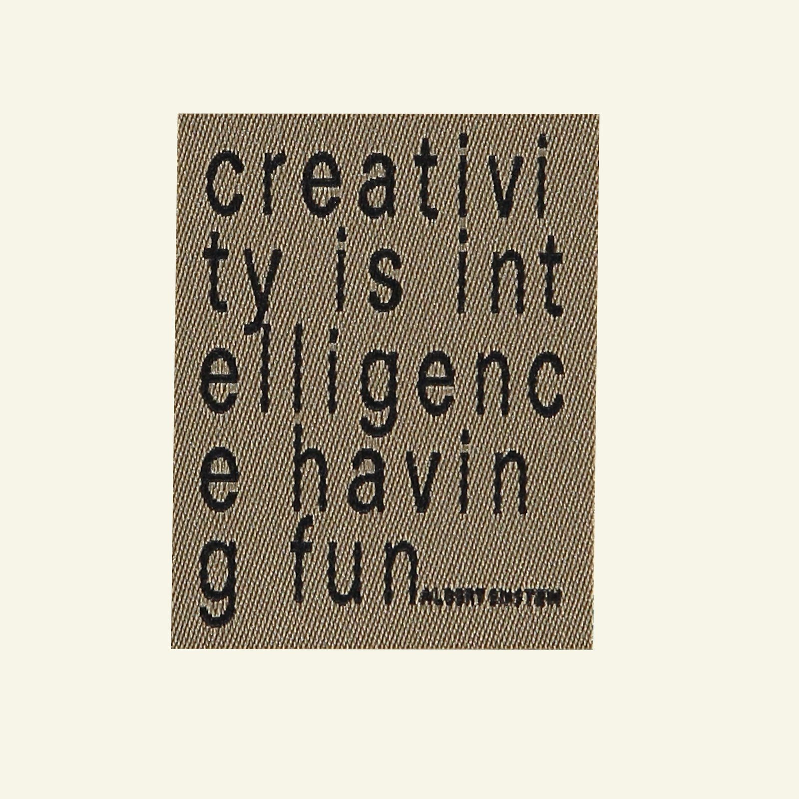 Patch Creativity is ... 40x50mm 1pc 26368_pack