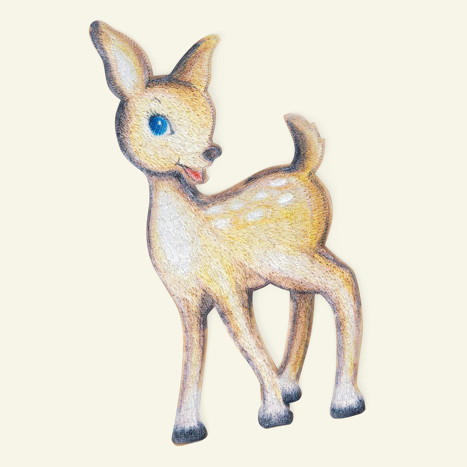 Patch deer 85x173mm brown 1pc 24821_pack