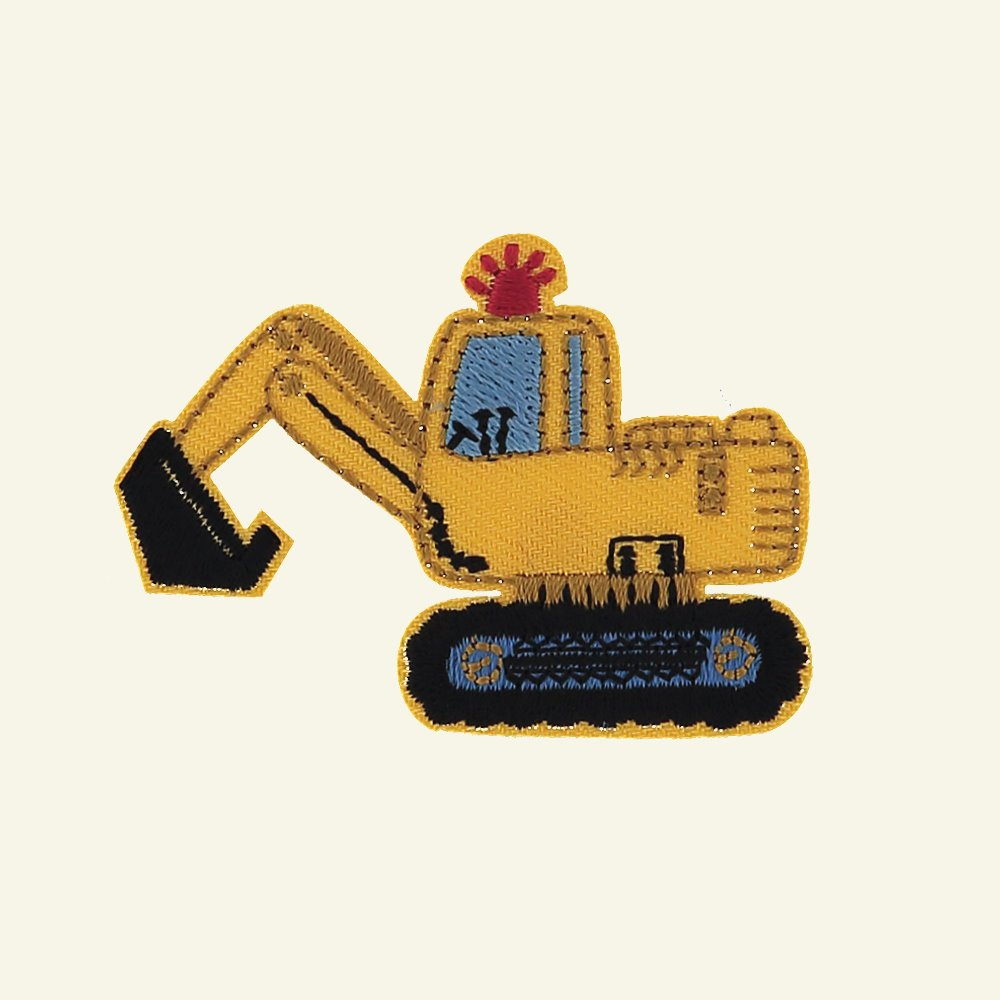 Patch digger 55x40mm yellow 1pc 26398_pack