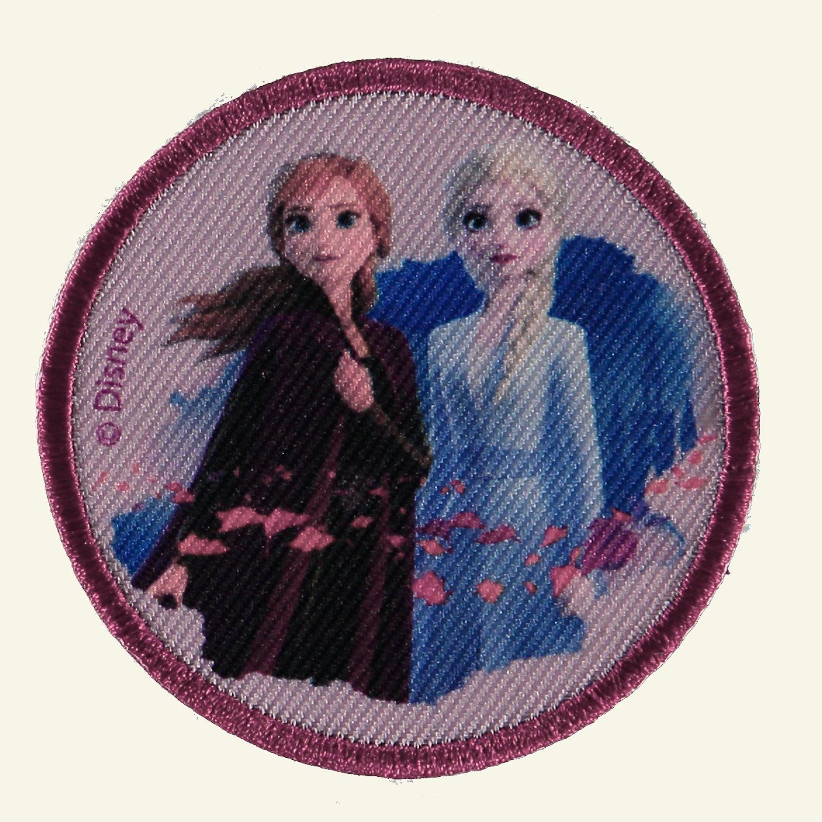 Patch FROZEN Anna/Elsa 65mm 1pc 26412_pack