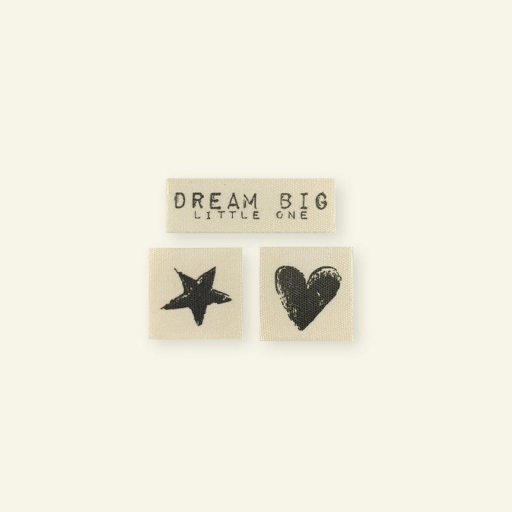 "Patch kit ""Dream big"" 3pcs 24557_pack"