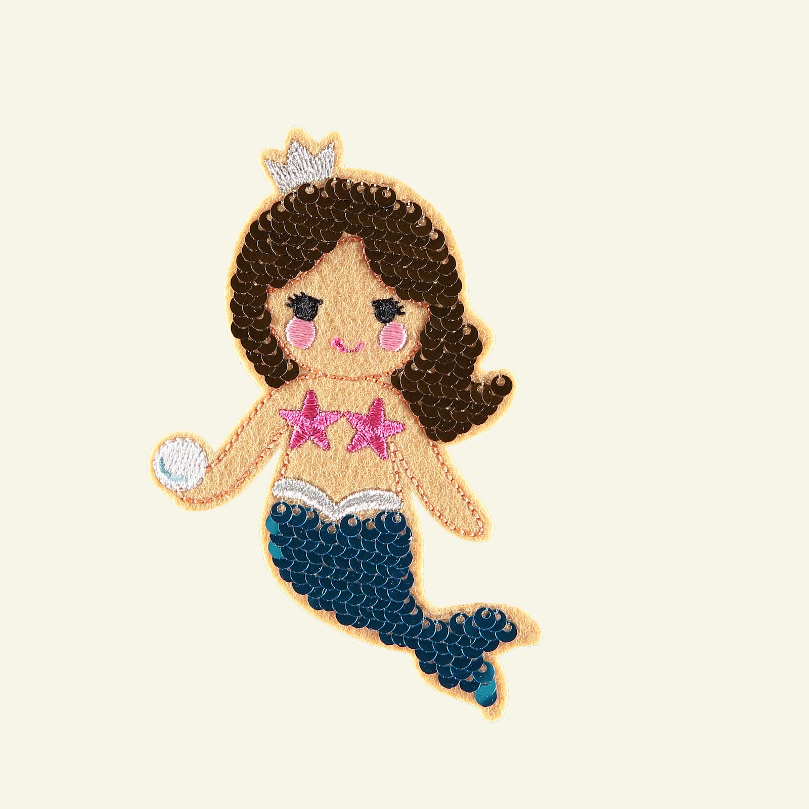 Patch mermaid sequin 100x75mm 1pc 26327_pack