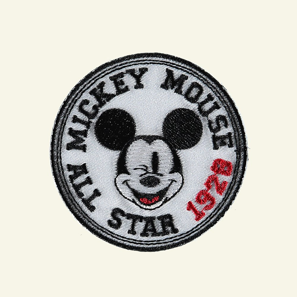 Patch Mickey Mouse All Star 65mm 1pc 24705_pack