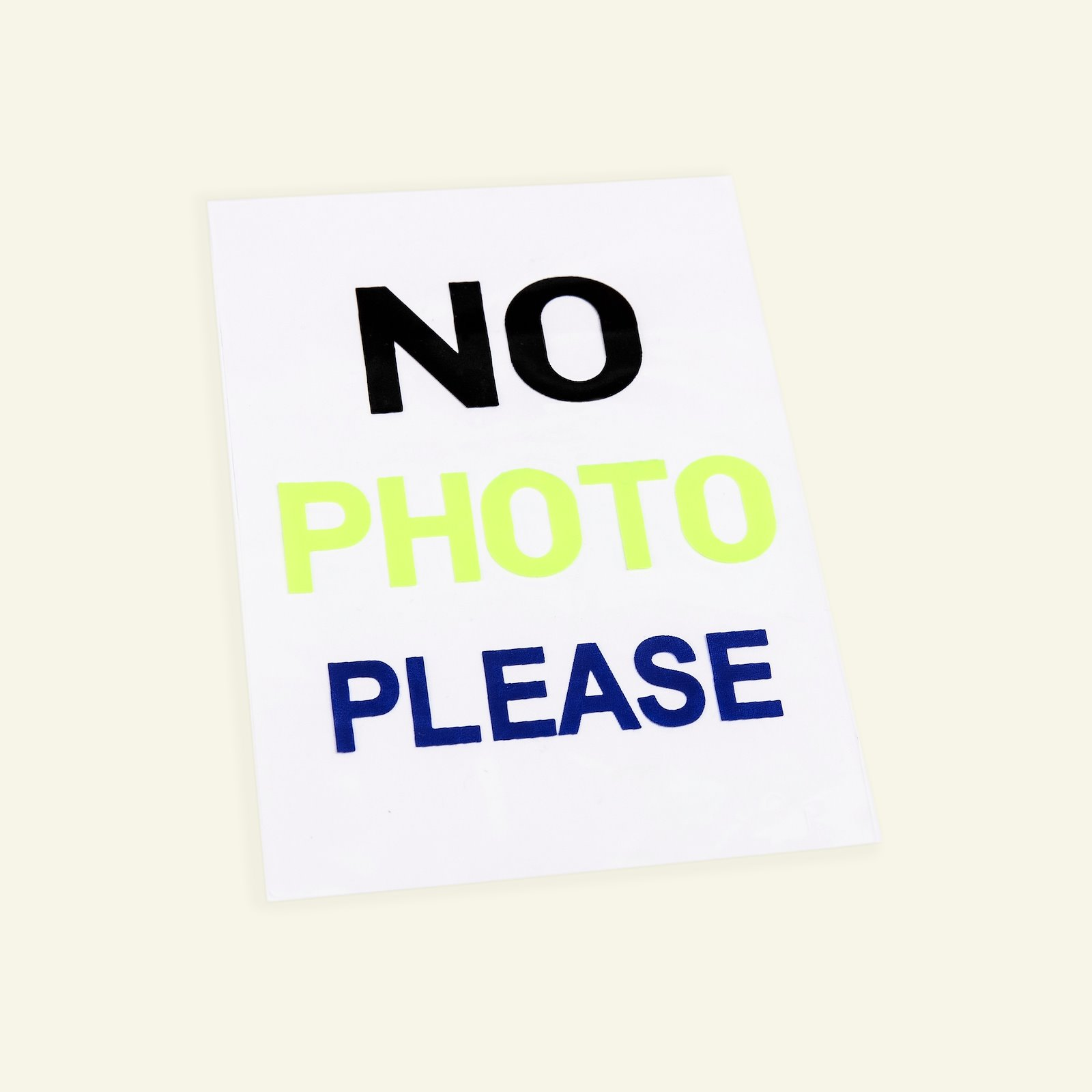Patch No Photo 88x127mm 1pc 26426_pack