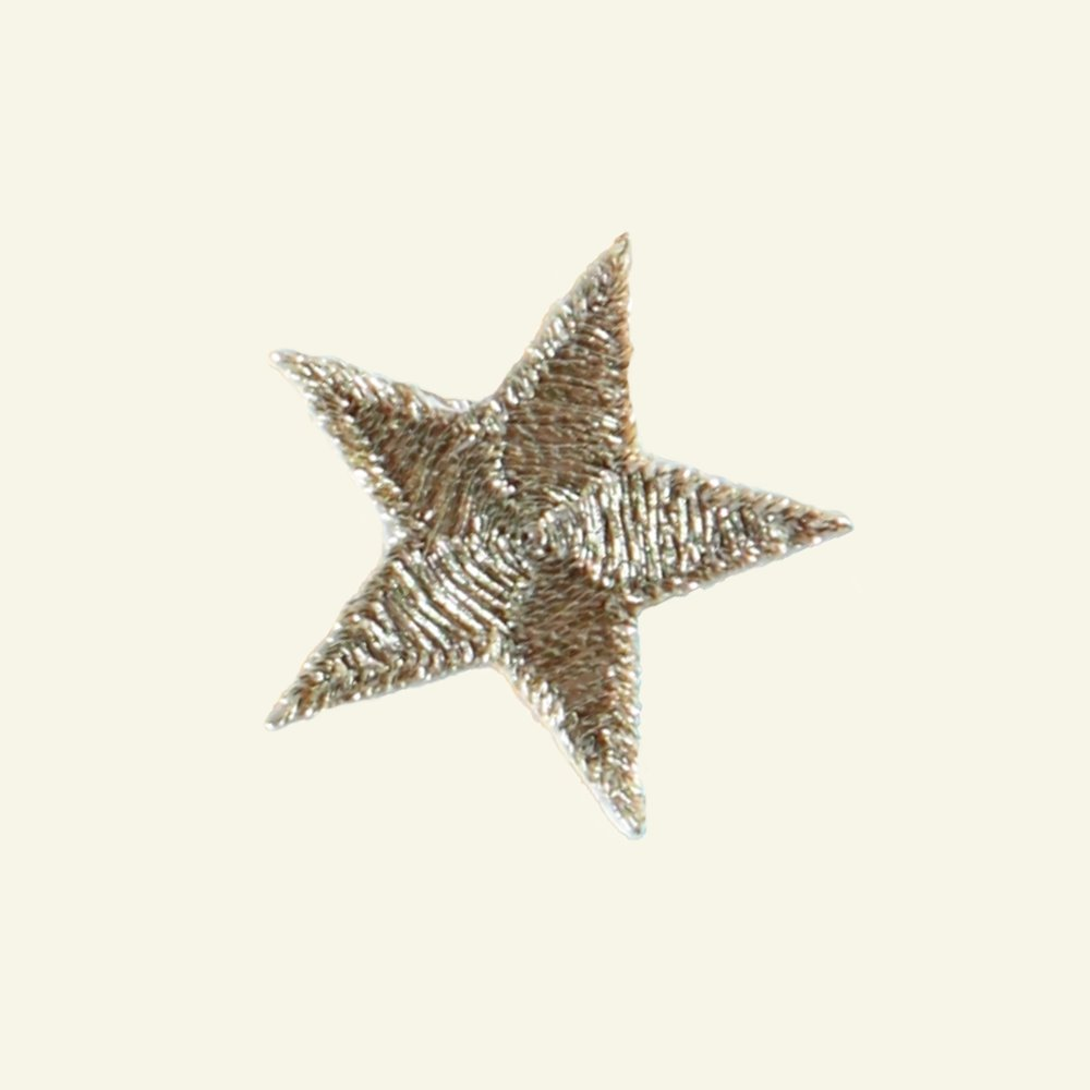 Patch star 2,6 x 2,6 cm gold 1psc 23556_pack