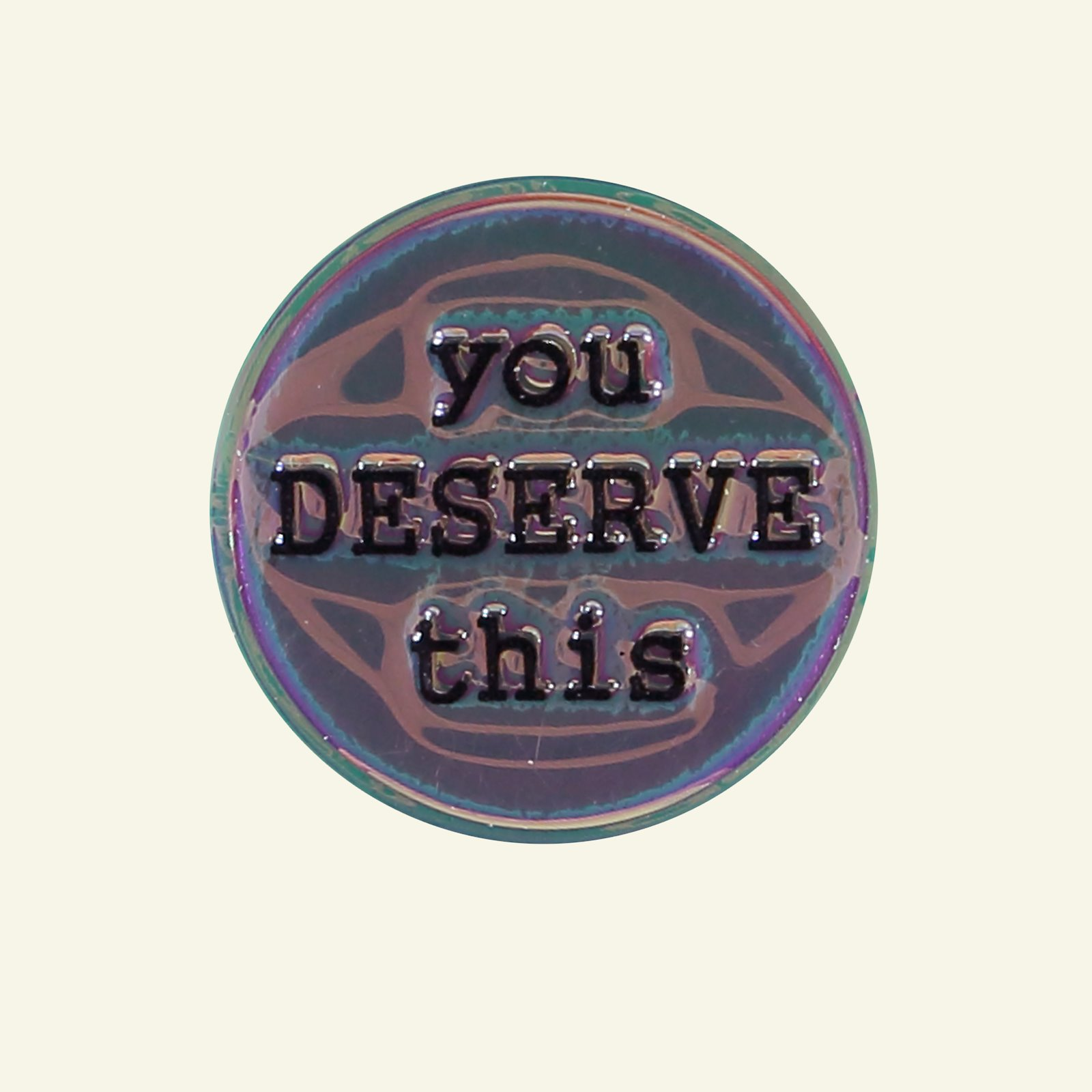 Patch You Deserve This 37x37mm 1pc 26354_pack