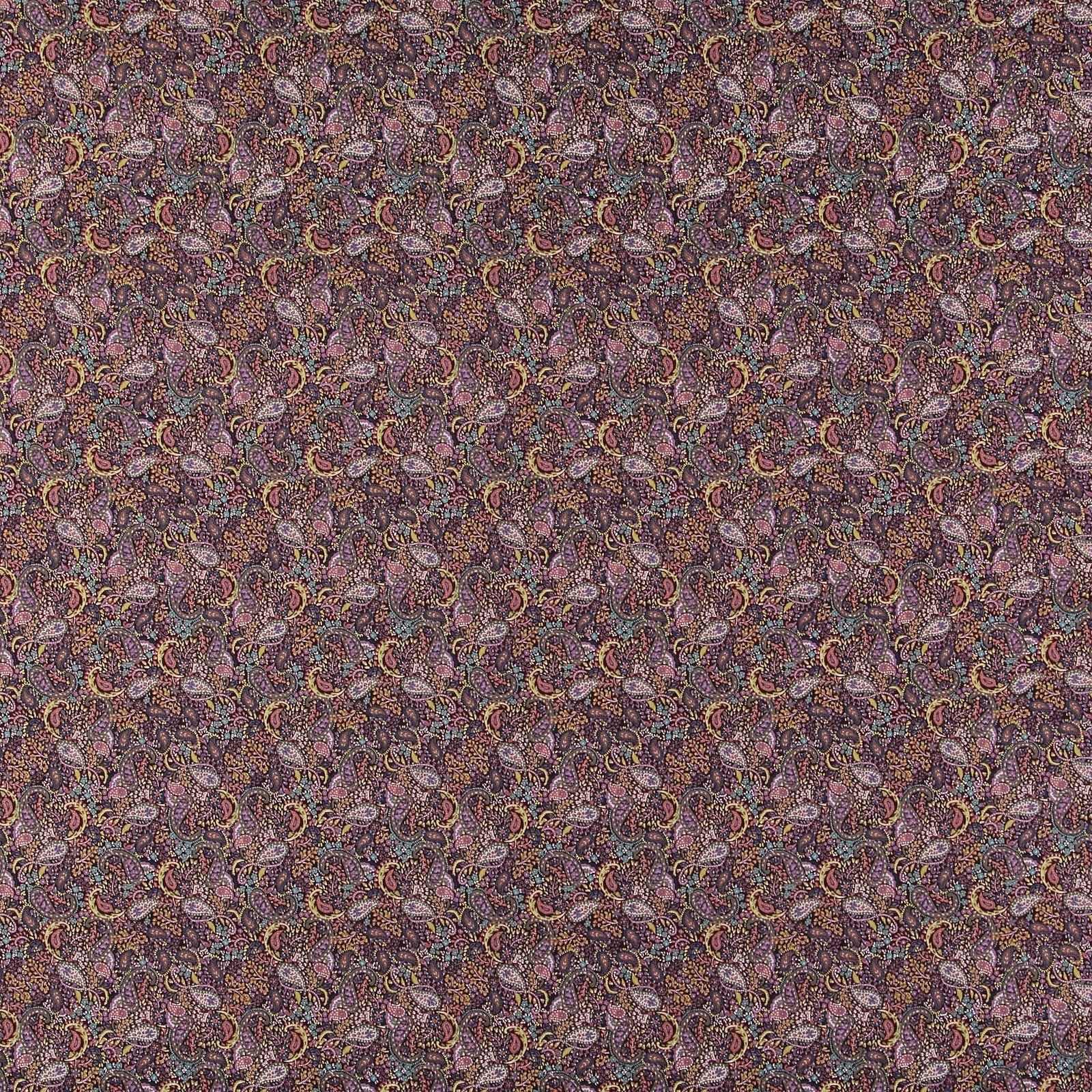Patchwork 45x55cm chestnut brown paisley 92469_pack_sp