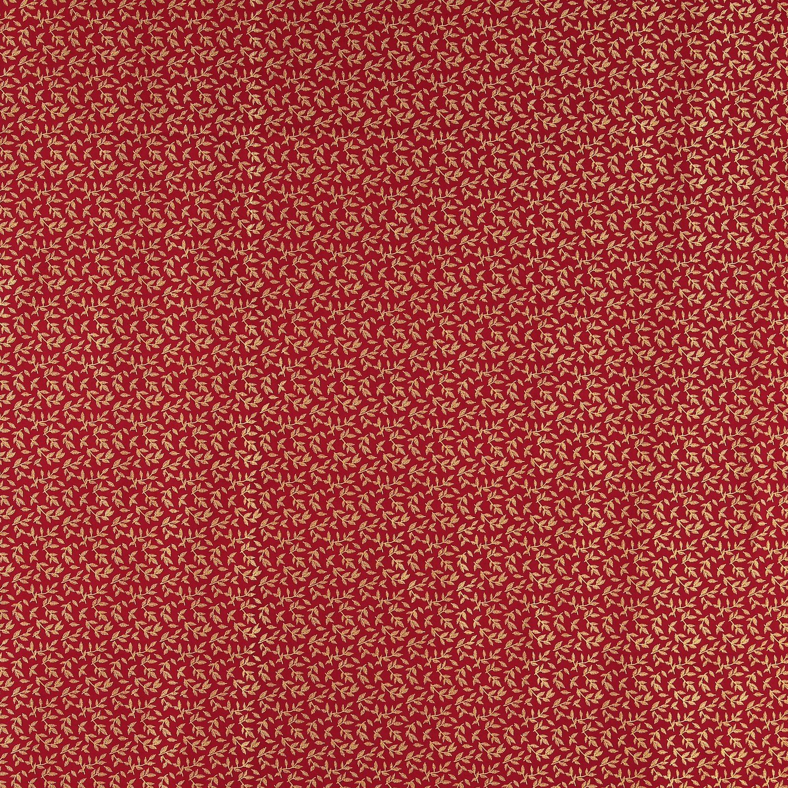 Patchwork 45x55cm red with gold leaves 92406_pack_sp