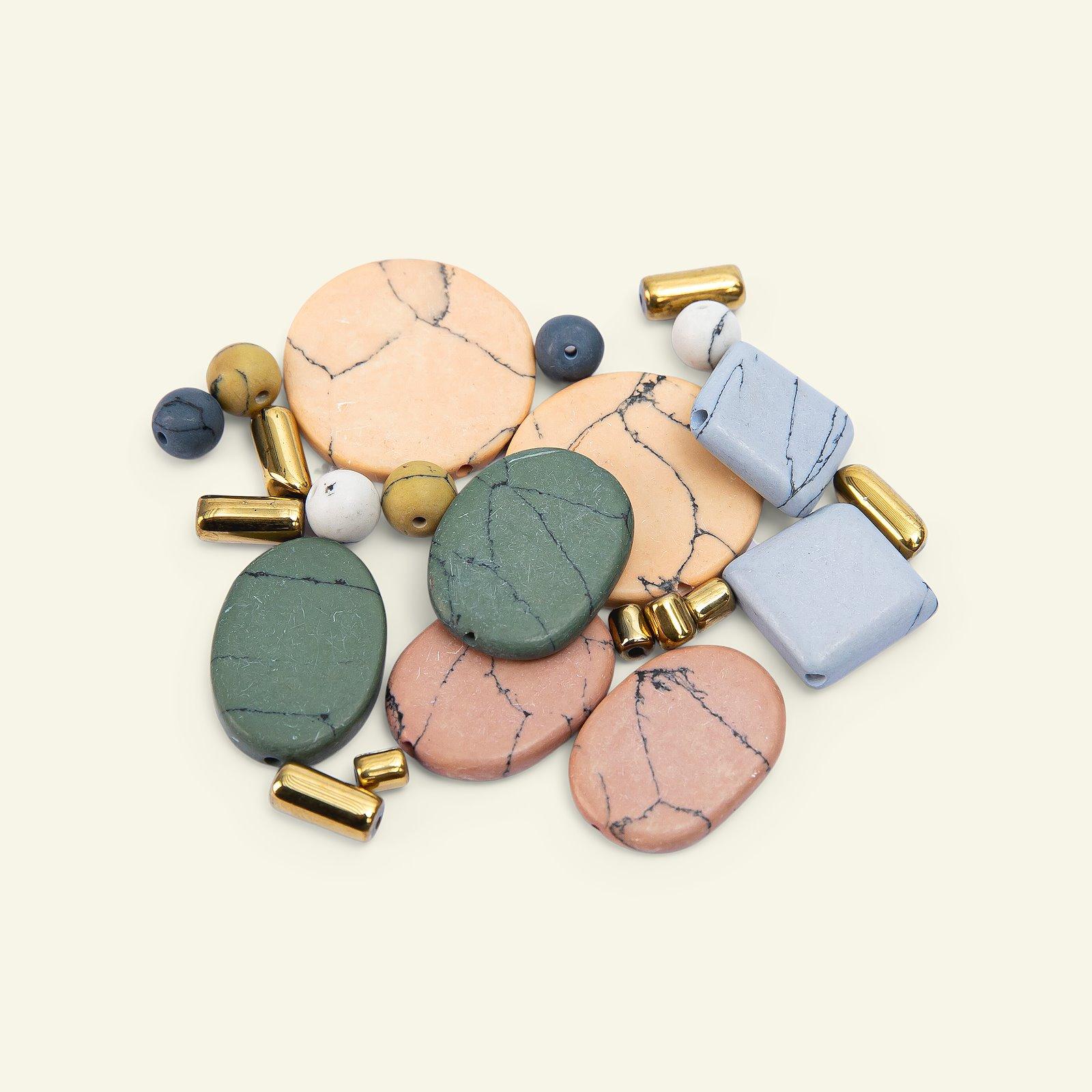 Perlen-Mix Keramik/Metall 5-20mm, 24 St. 47601_pack