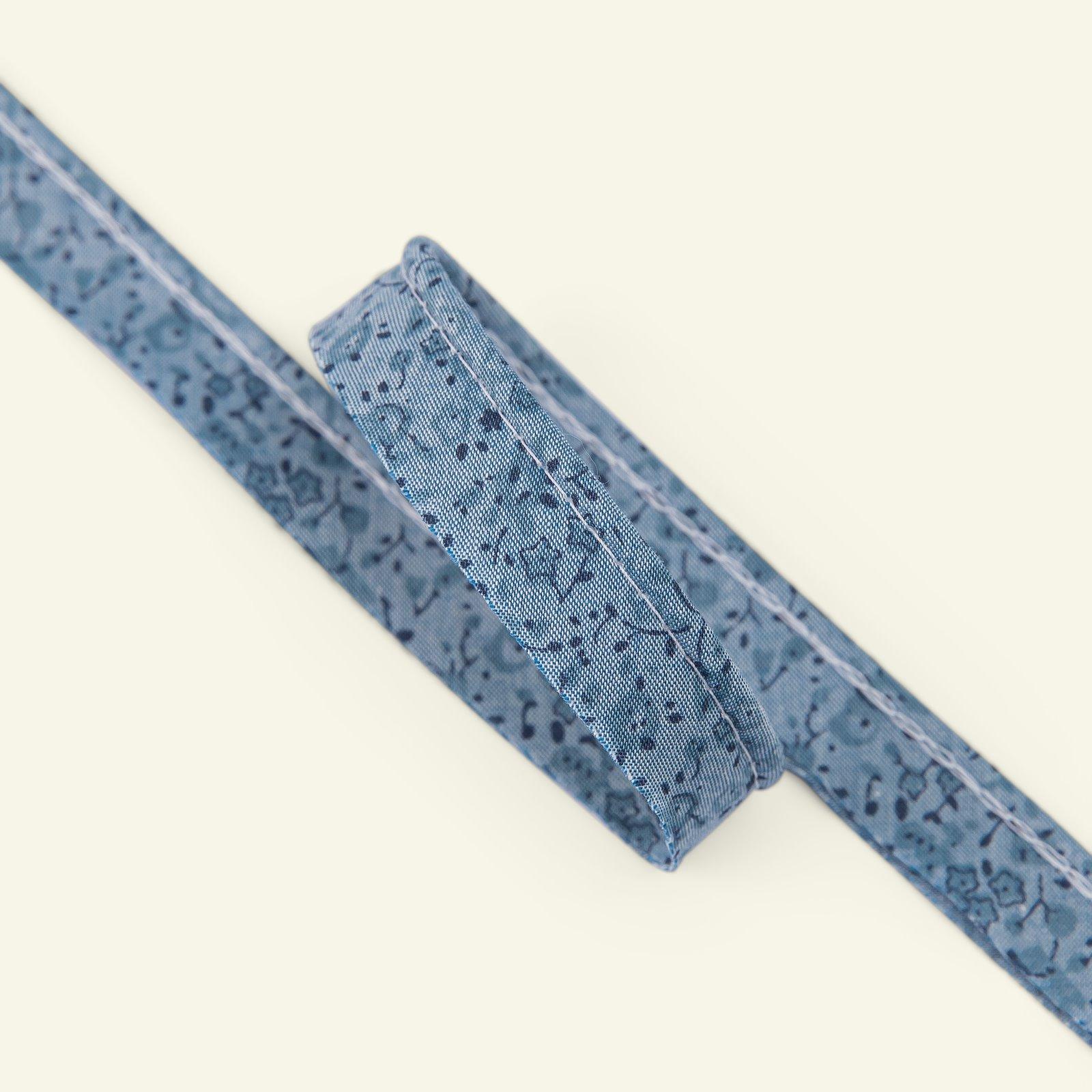 Piping flowers 4mm denim/blue 3m 22341_pack
