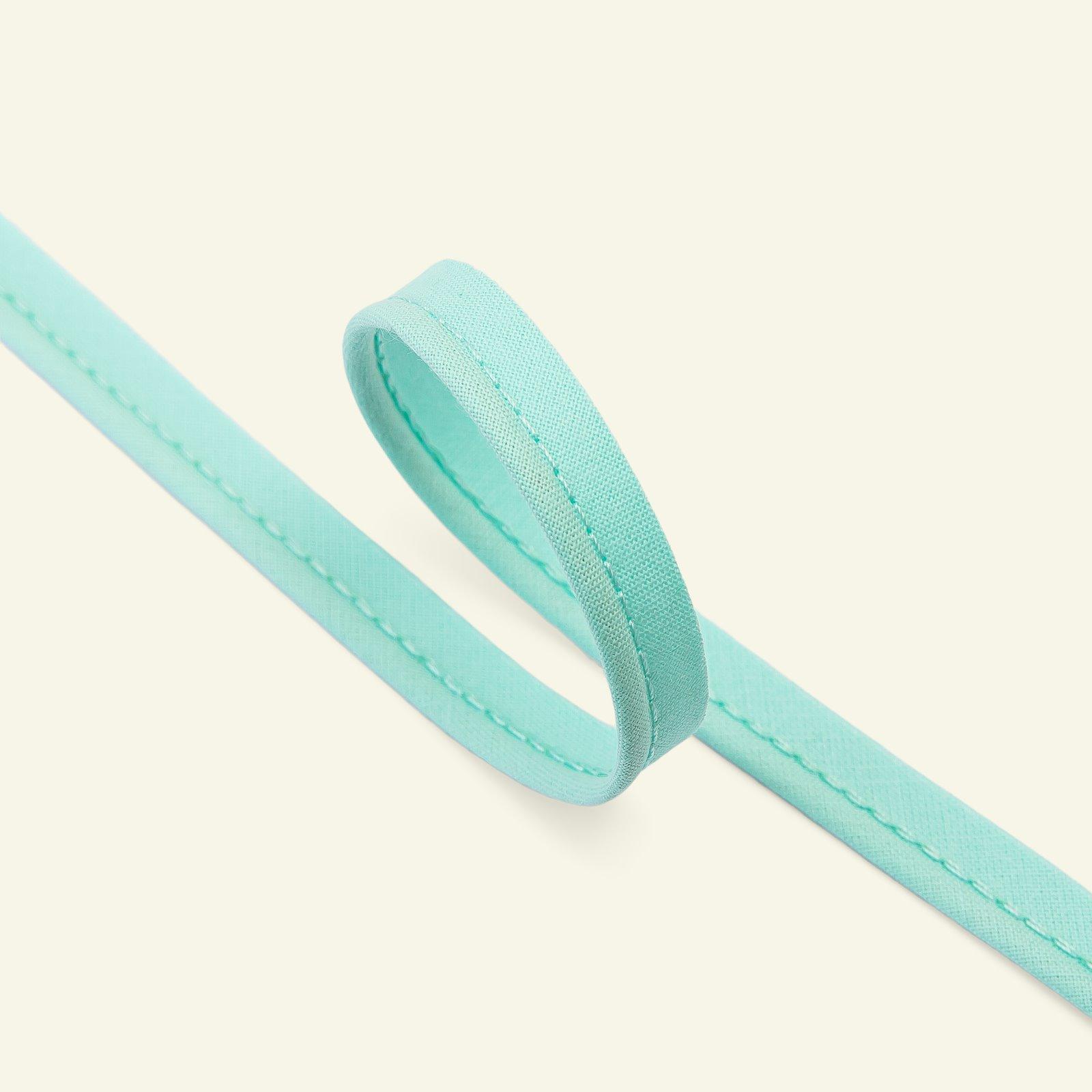 Piping ribbon cotton 4mm aqua 5m 71089_pack