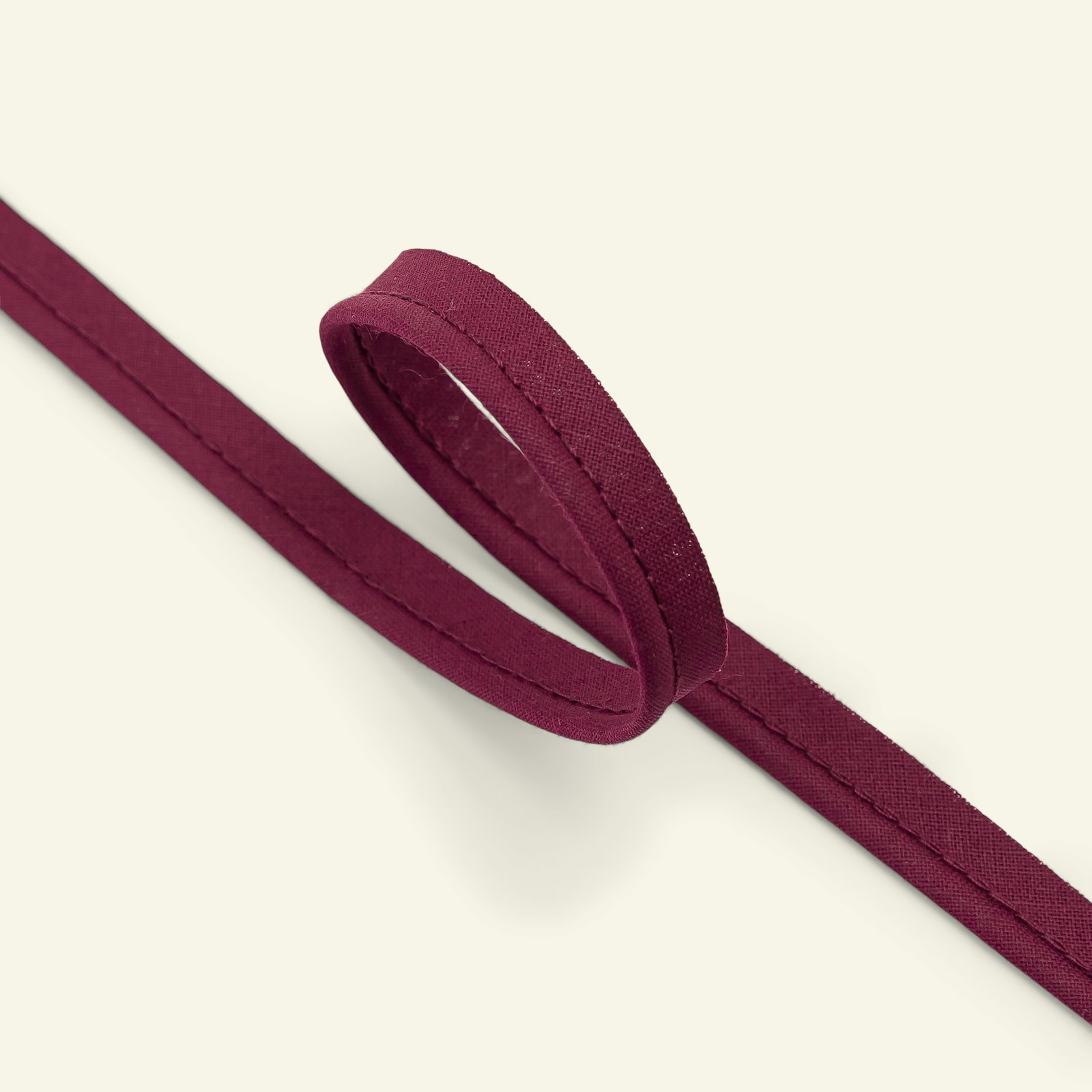 Piping ribbon cotton 4mm bordeaux 5m 71014_pack