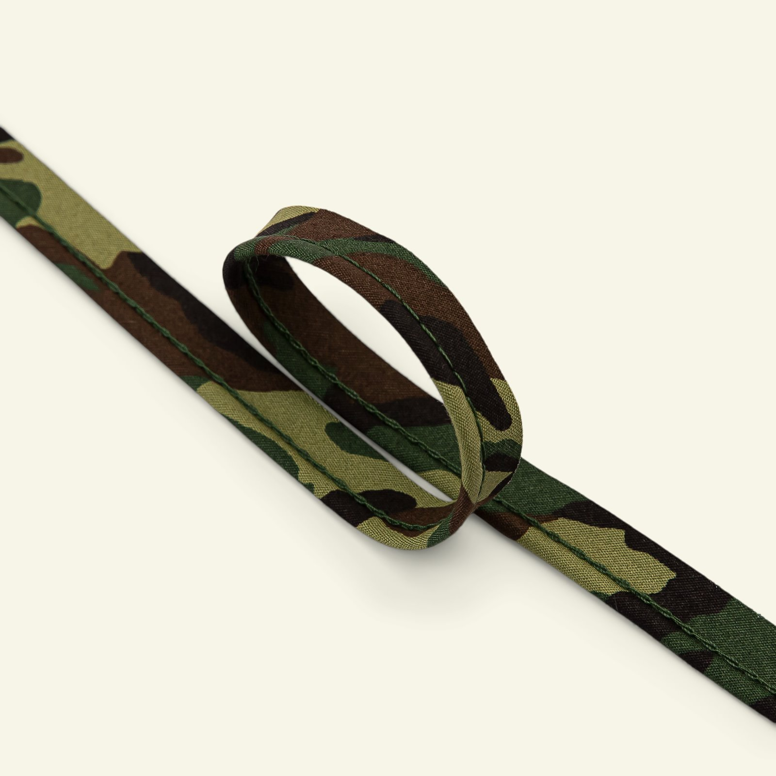Piping ribbon cotton 4mm camouflage 3m 71242_pack