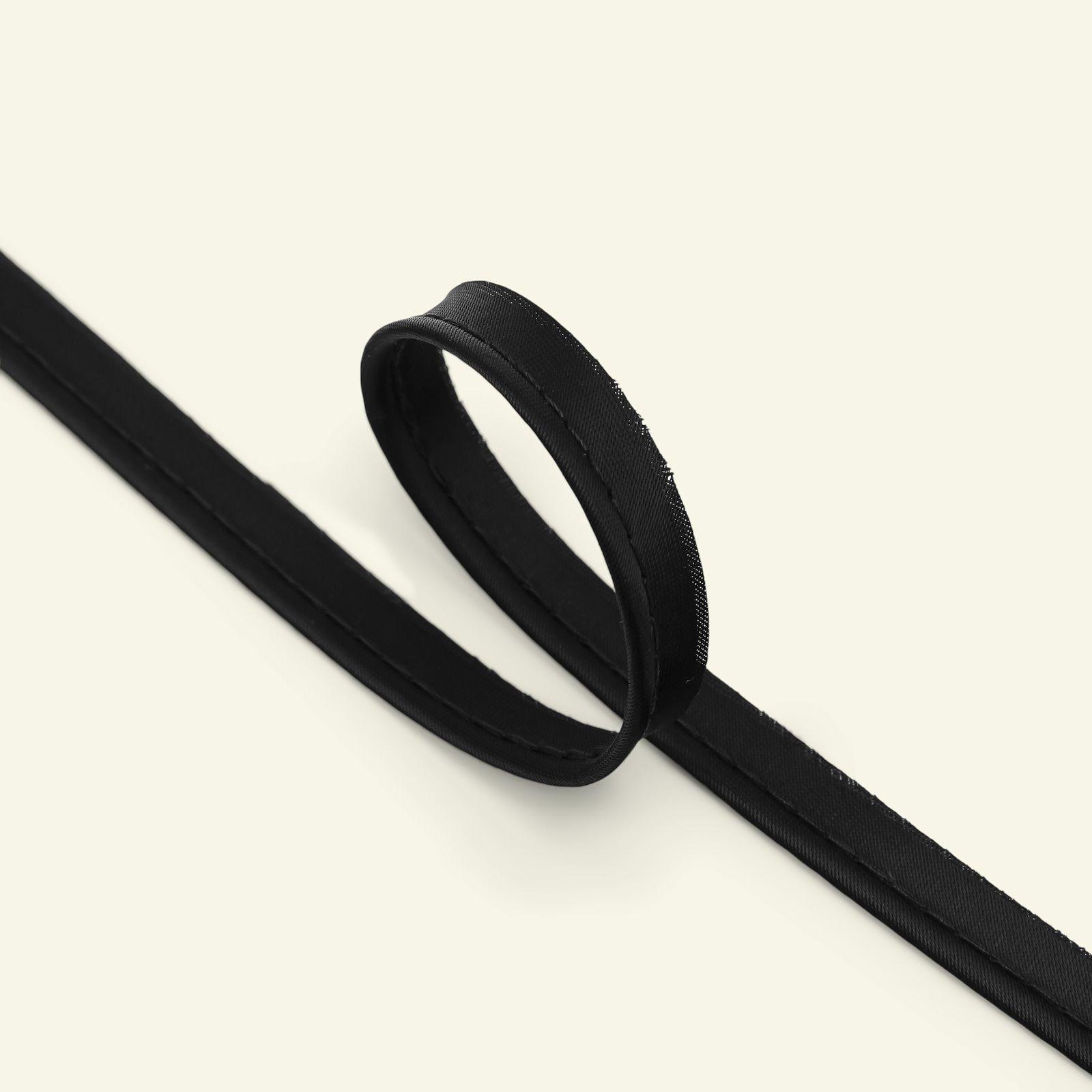 Piping ribbon satin 4mm black 5m 72043_pack