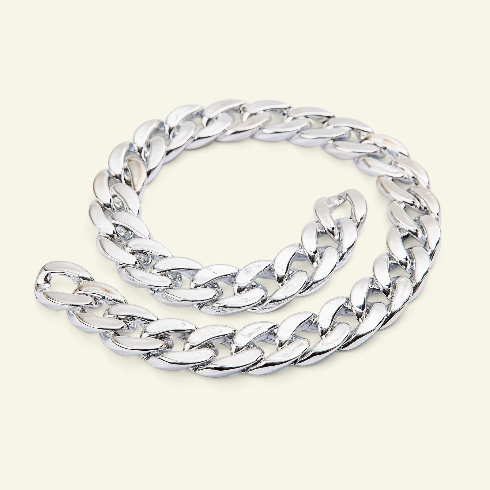 Polyester-Kette Silber 150cm 38100_pack