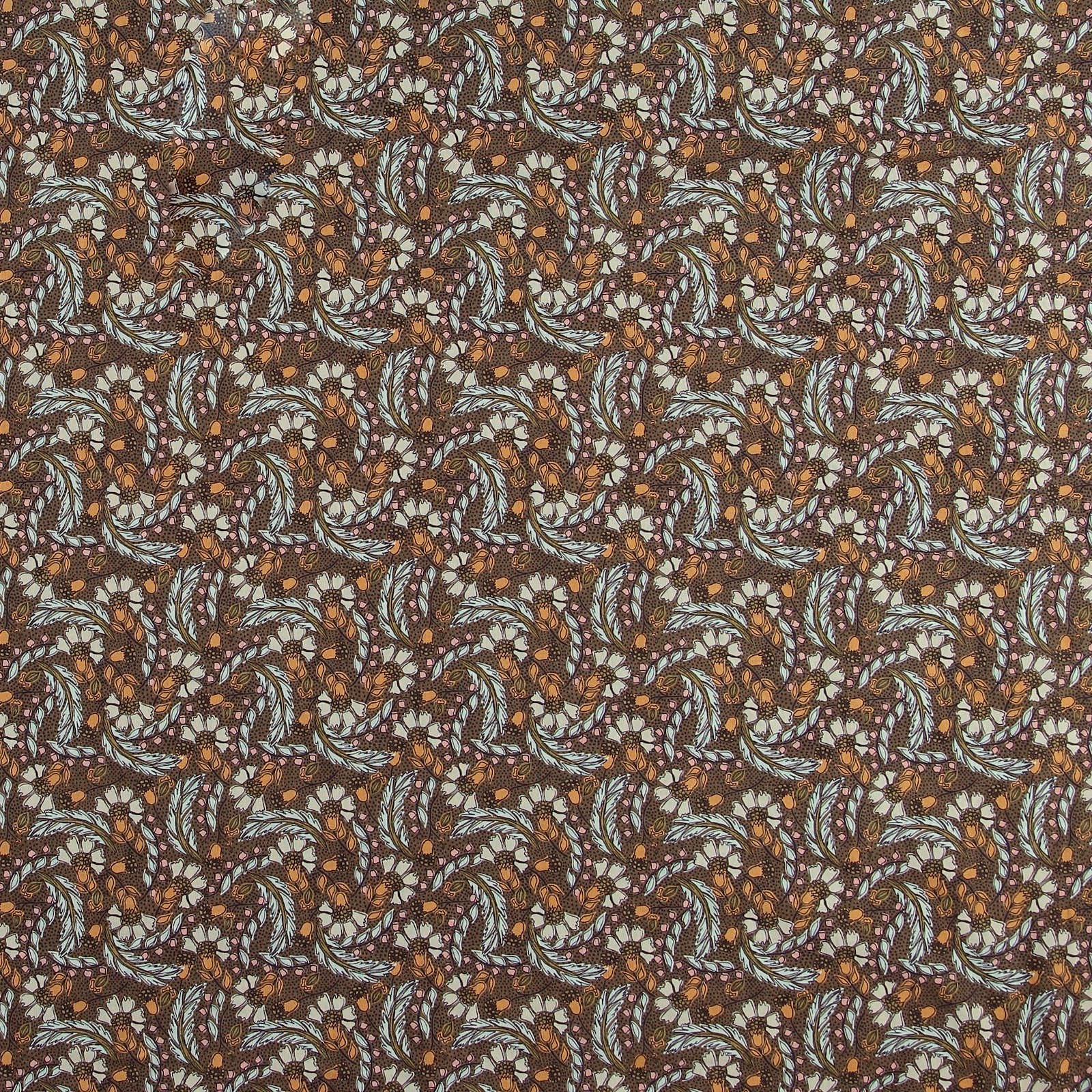 Printed cotton dusty olive with flowers 780567_pack_sp