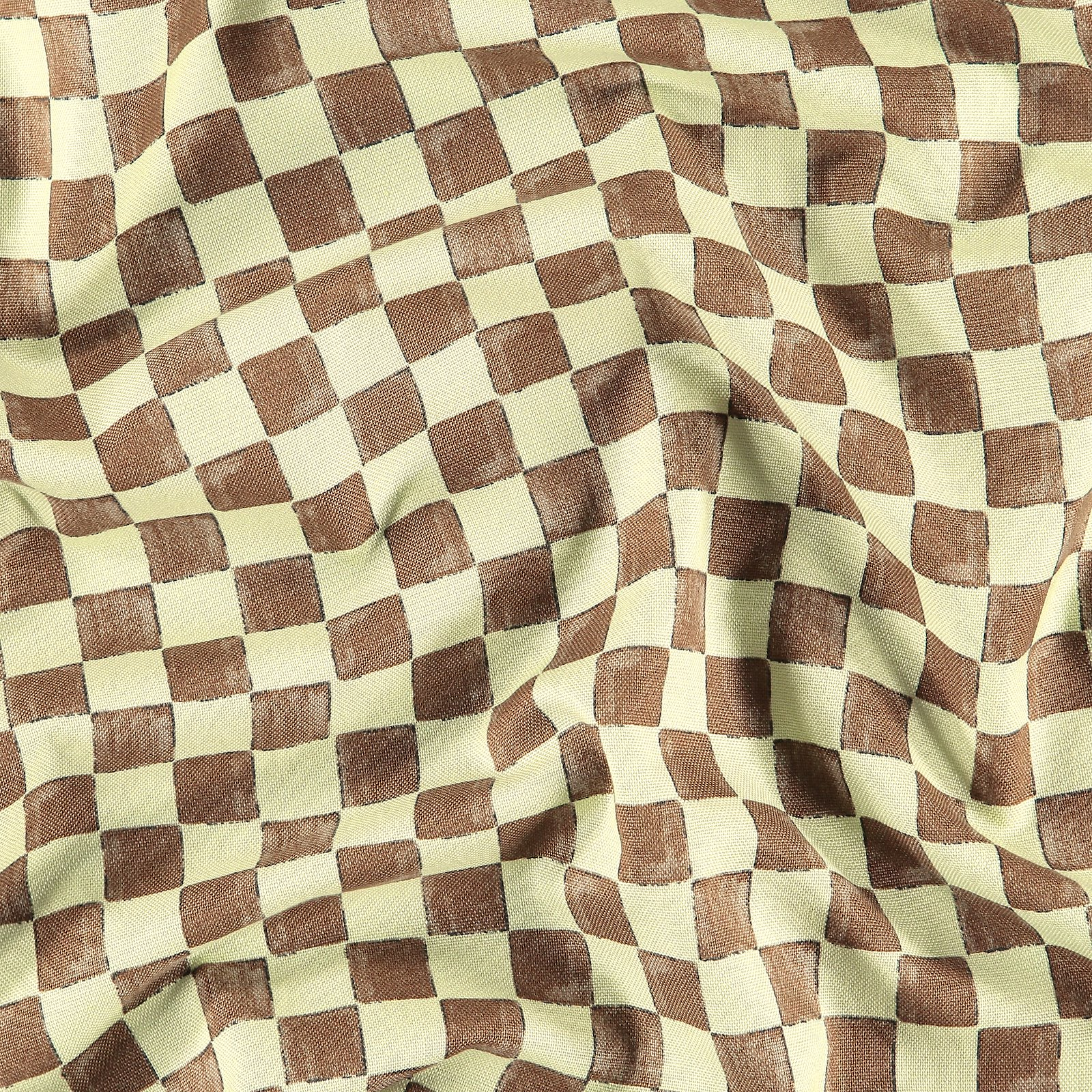 Printed cotton sage/dusty olive checks 780568_pack