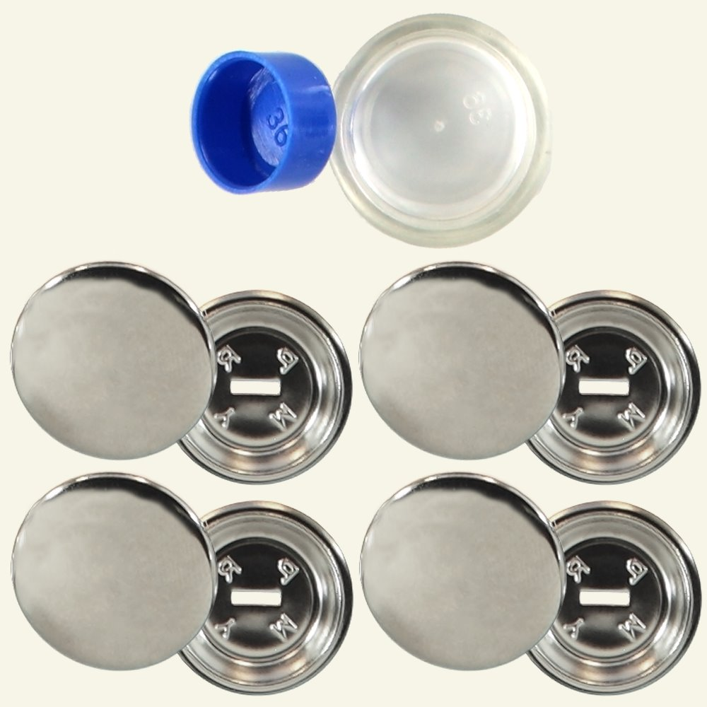 Prym cover buttons 23mm metal 4pcs 43516_pack