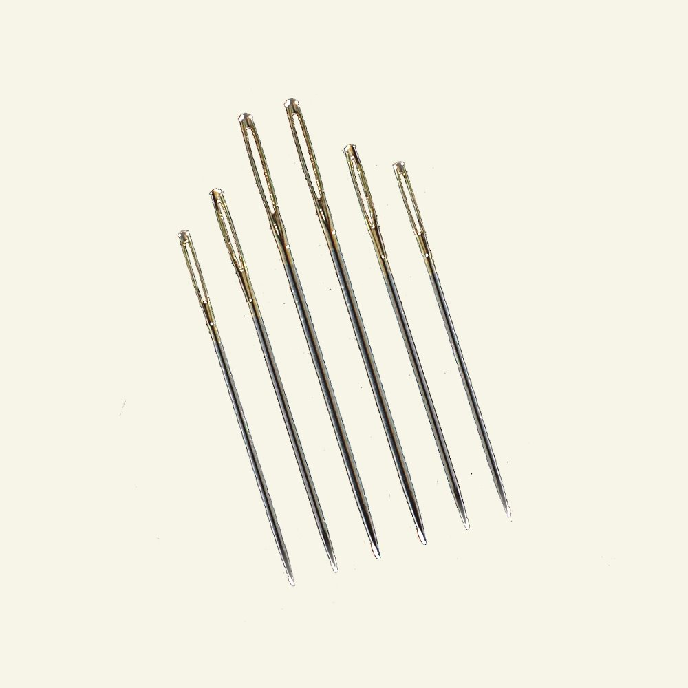 Prym embroid. needle sharp size 18-22 6p 46649_pack