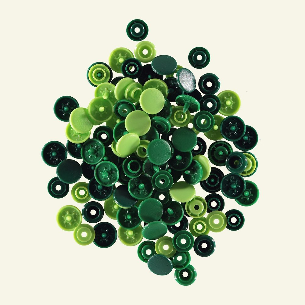 Prym Love snapfastener 12,4 green 30pcs 45003_pack
