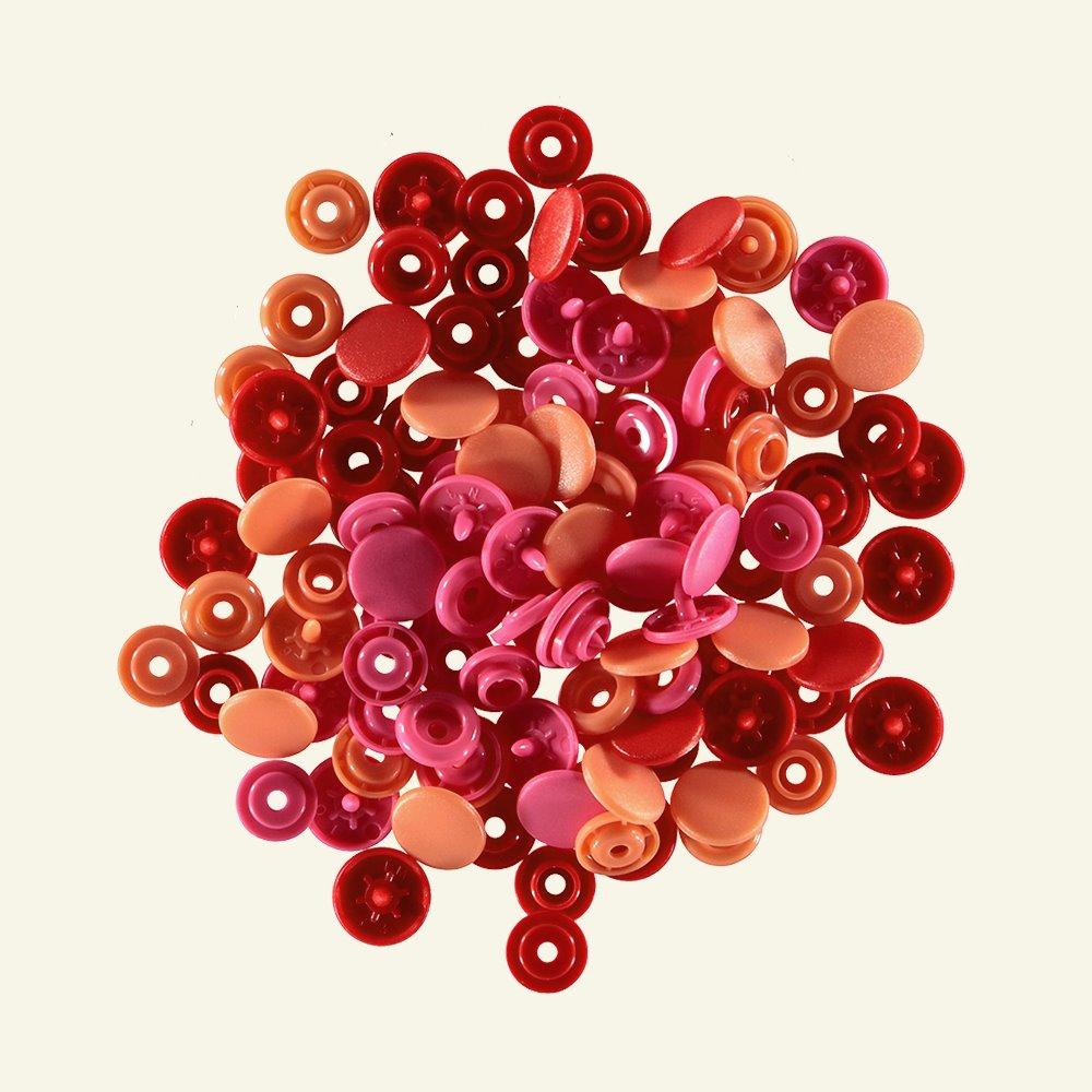 Prym Love snapfastener 12,4 red 30pcs 45004_pack