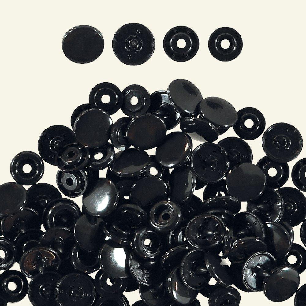 Prym snap button 12,4mm black 30pcs 45064_pack