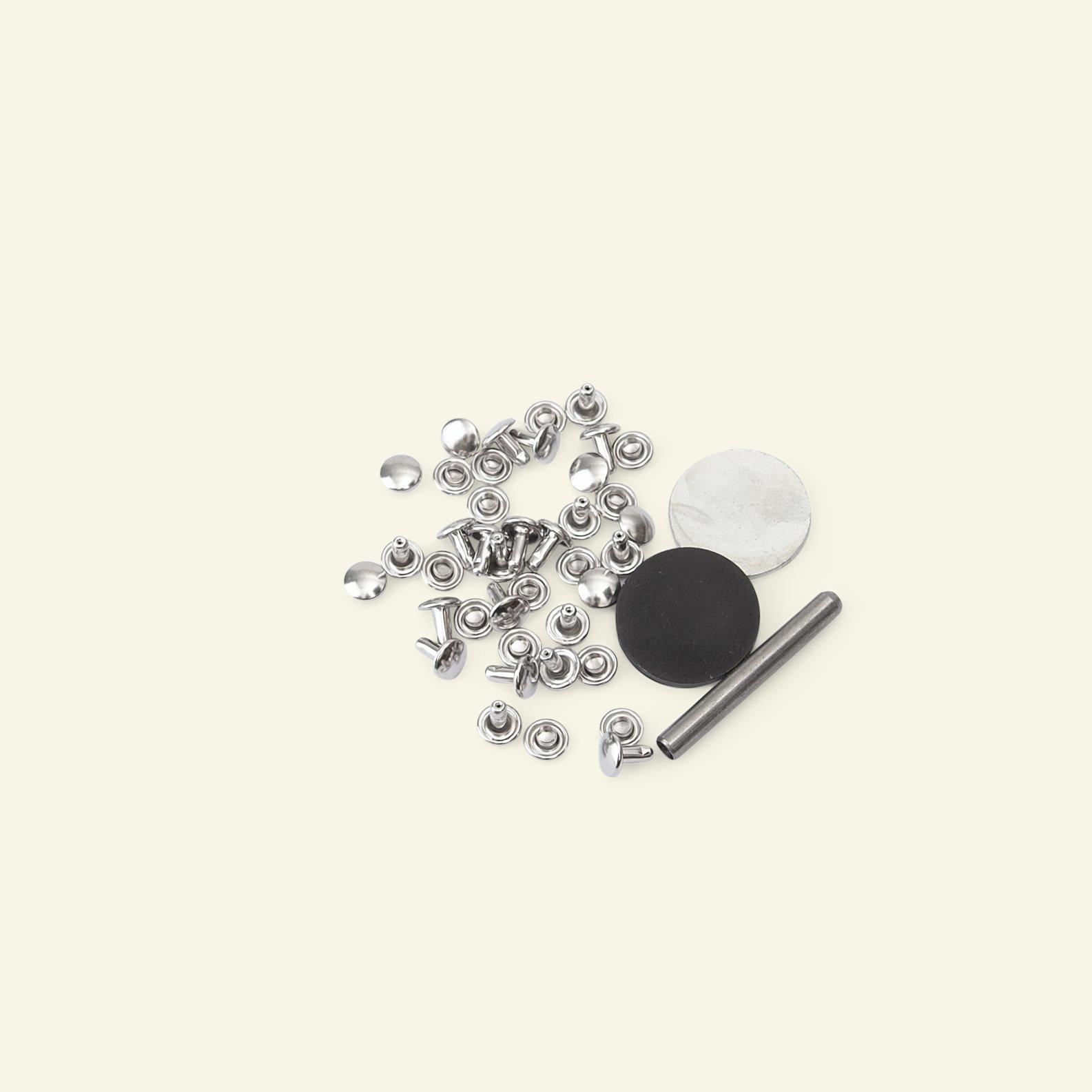 PRYM Tubular Rivets 3-4mm D. 7,5mm 20set 44903_pack