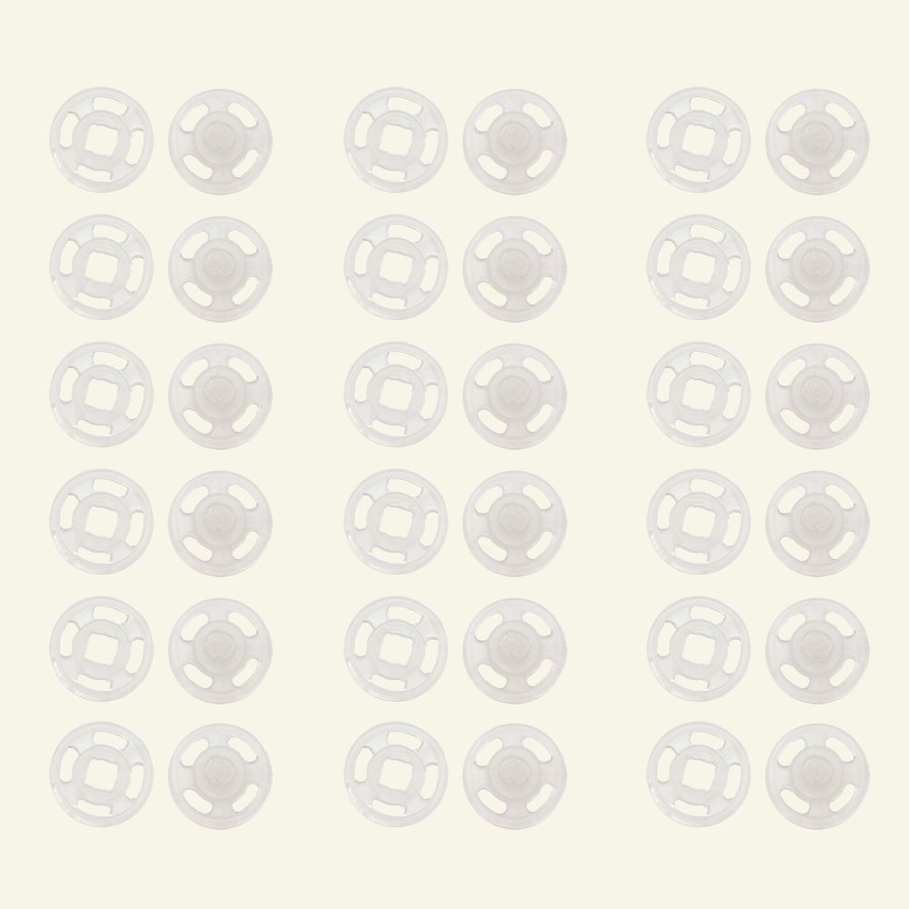 Prymsnapfasteners sew-on10mmplastic18pcs 46588_pack