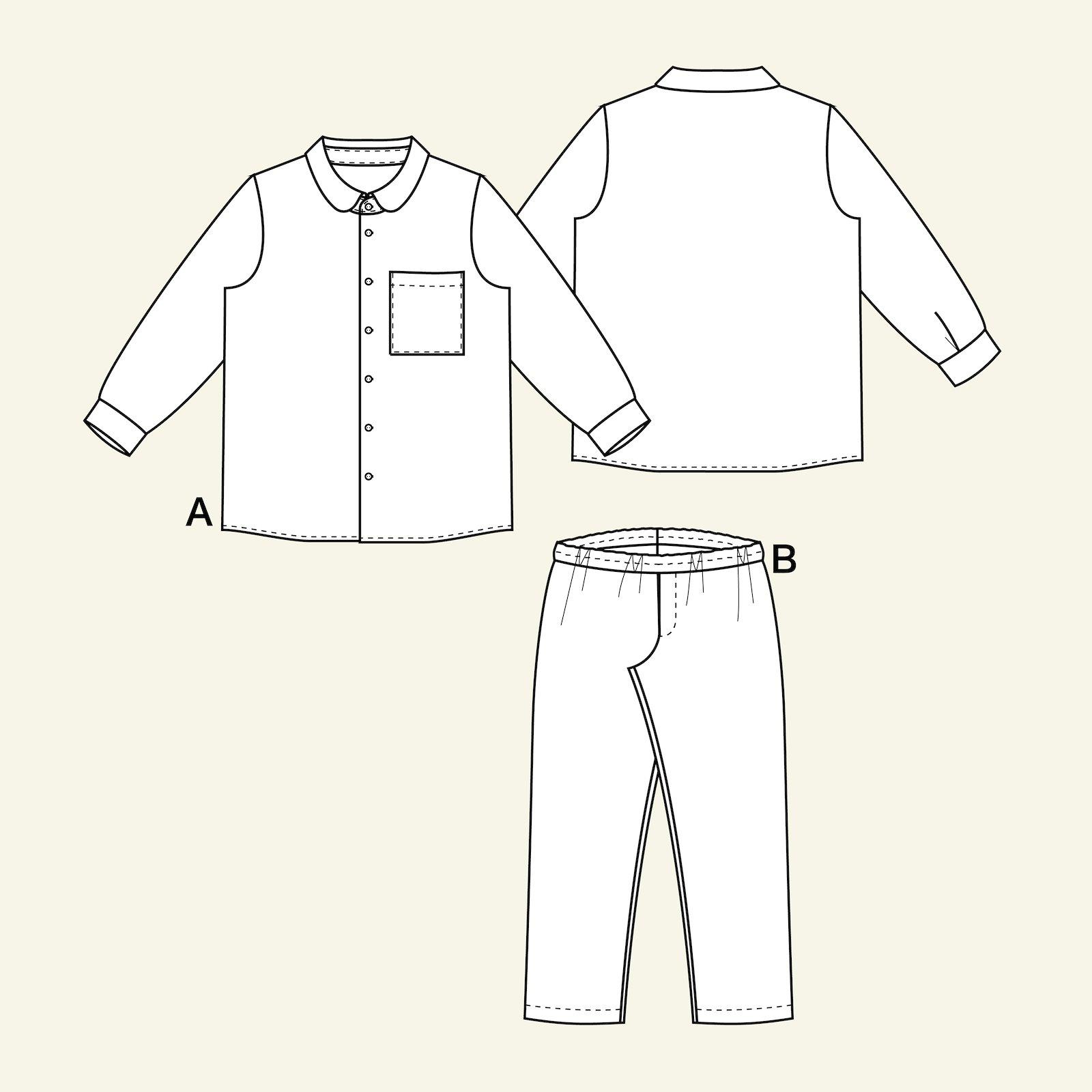 Pyjama, 140/10y p66011_pack