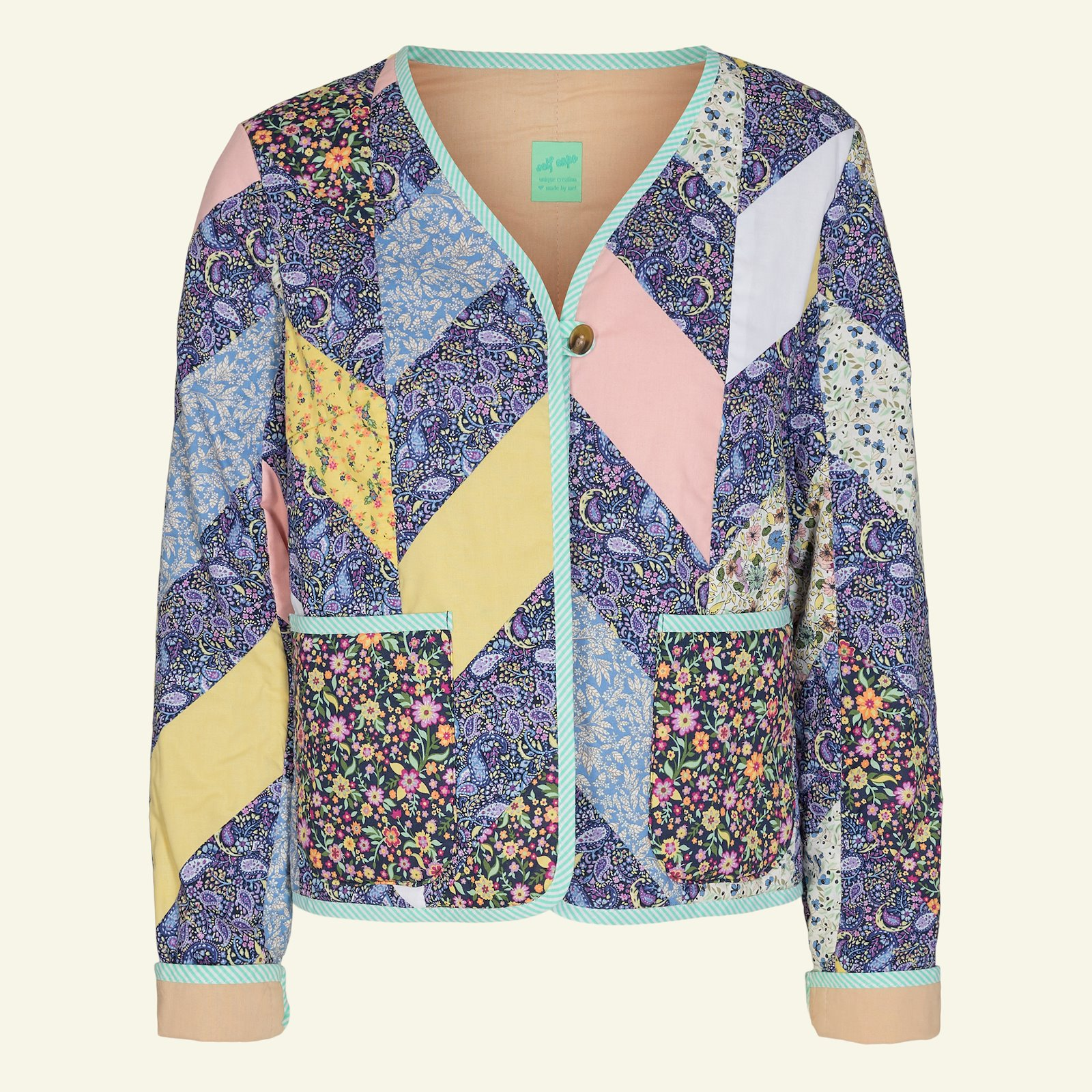 Quilted jacket and waistcoat, 44/16 p24047_852365_852363_852364_852362_852359_852366_4358_4201_4357_64108_sskit