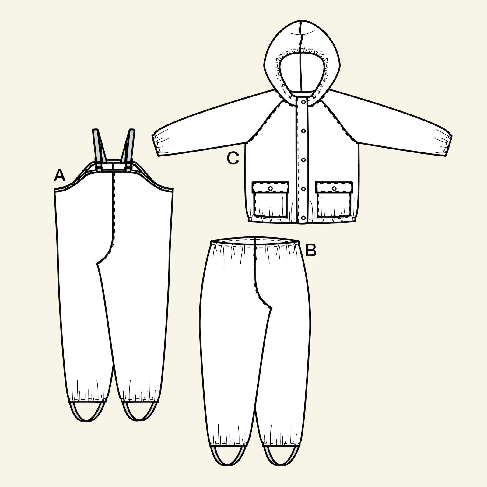 Rainwear, 92/2y p66002_pack