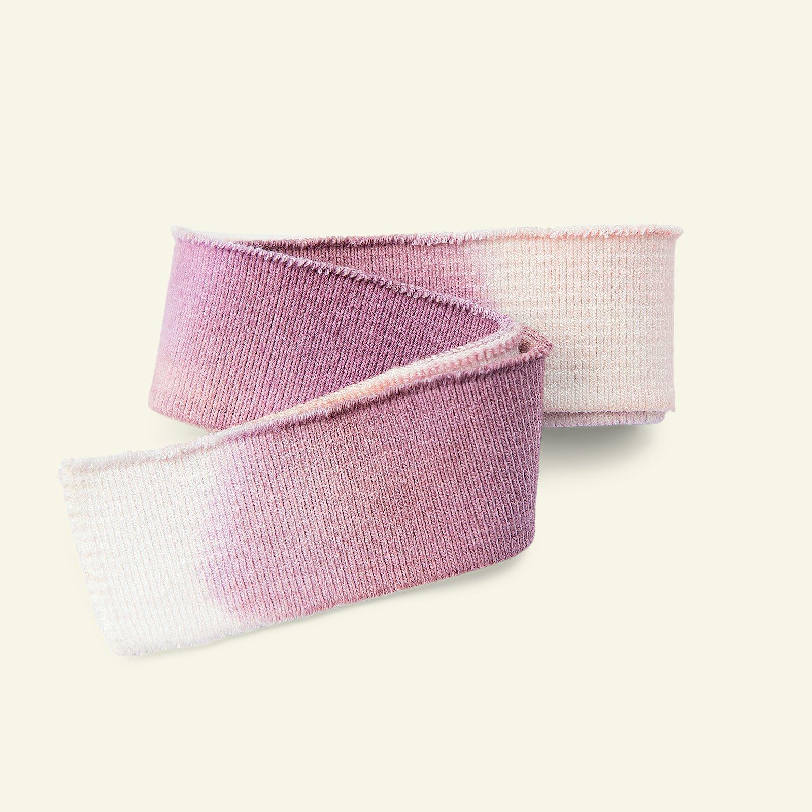 Rib 3,5x100cm purple multi 1pc 22254_pack
