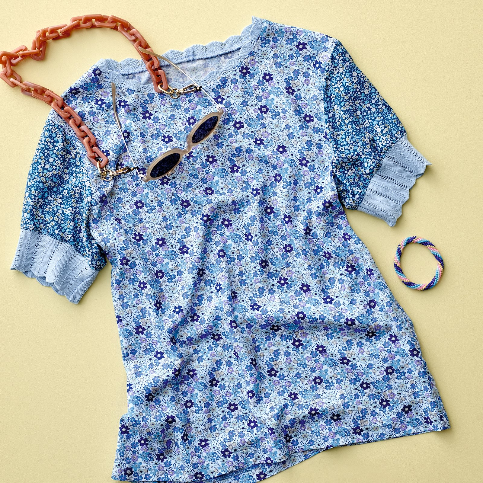 Rib knitted 6x55cm light blue 1pc p22061_710638_710639_96136_46303_bundle