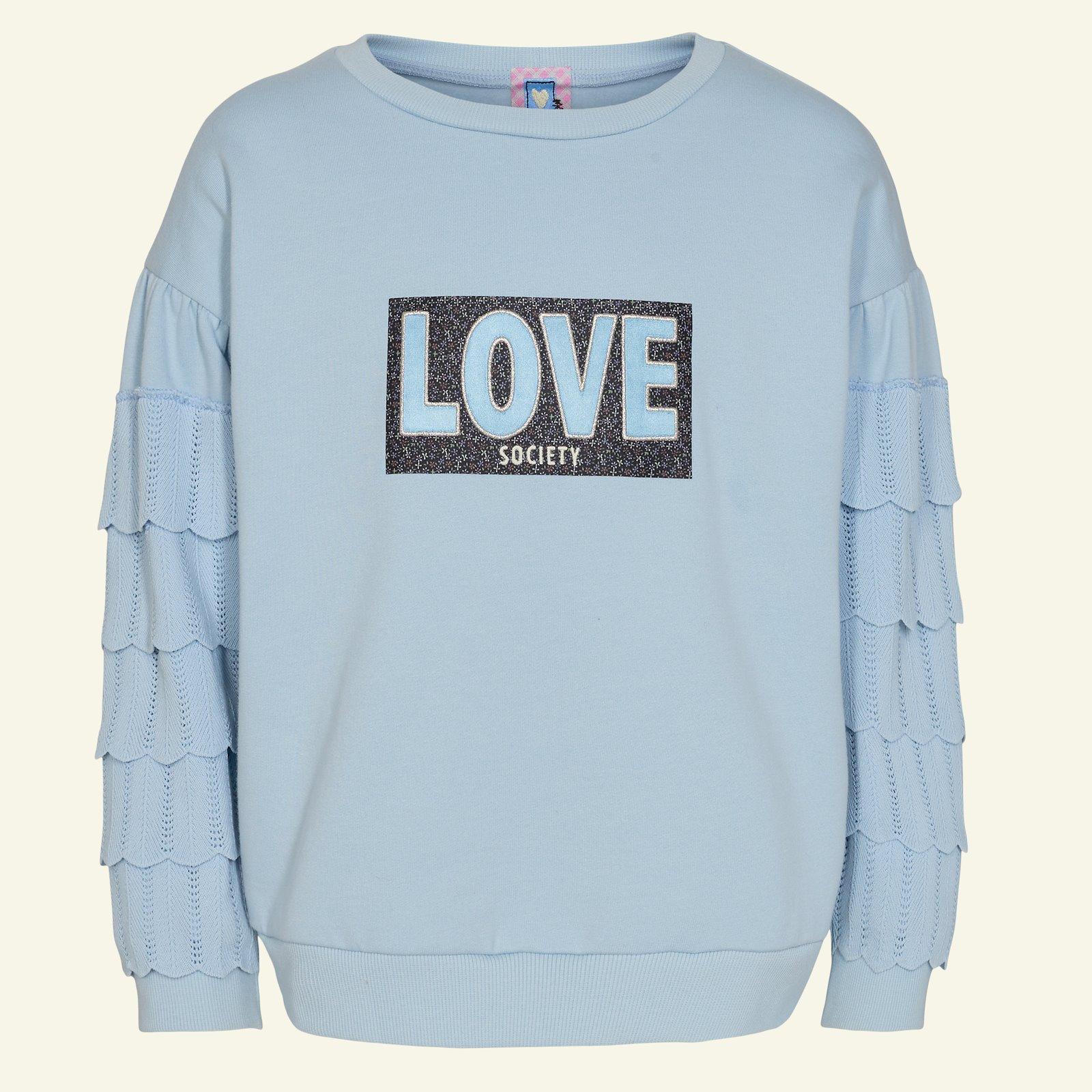 Rib knitted 6x55cm light blue 1pc p62020_211777_272668_96136_26525_sskit