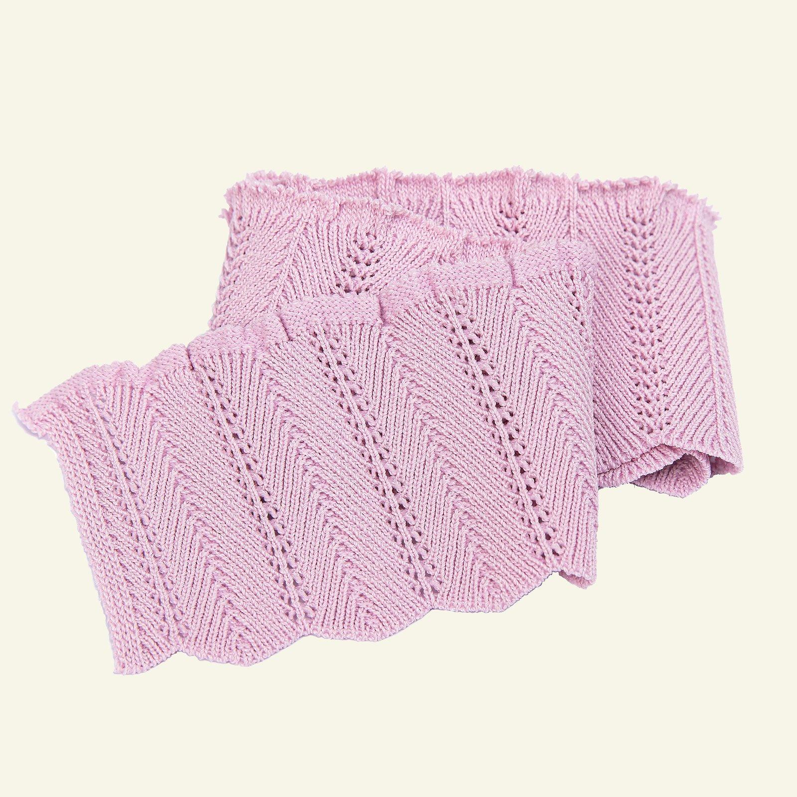 Rib knitted 6x55cm purple 1pc 96138_pack