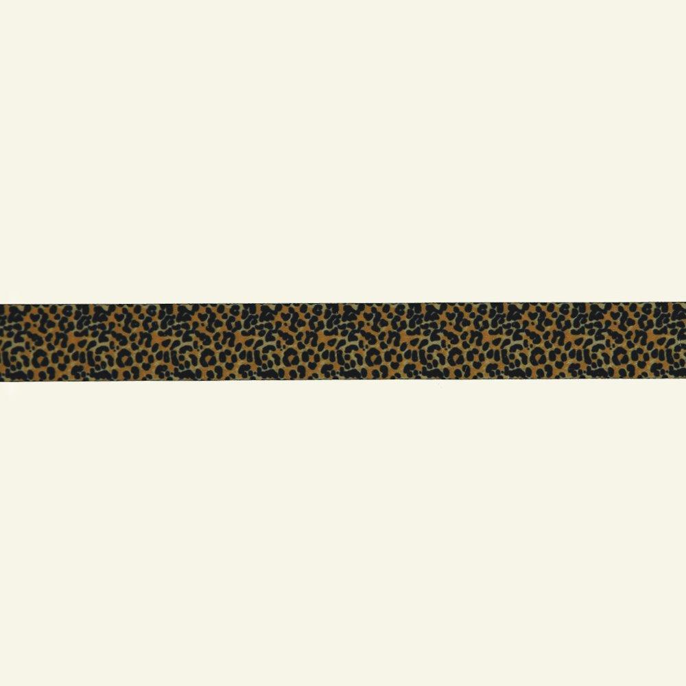 Ribbon 2 sides 25mm leopard 2m 21364_pack