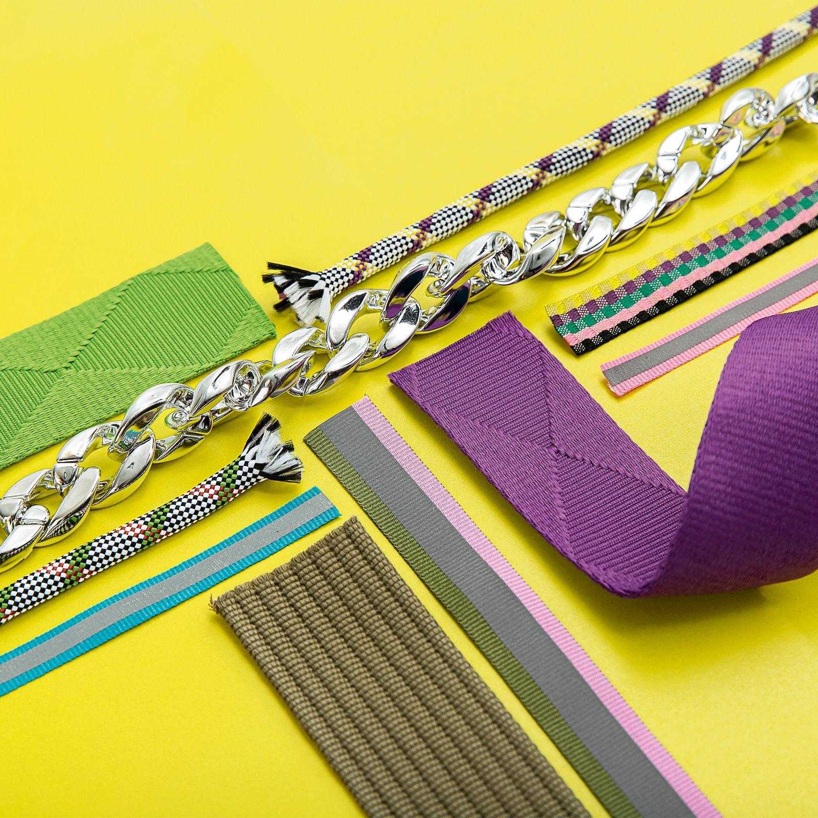 Ribbon check woven 17mm multi colour 3m 22292_22276_38100_22394_22201_22293_22200_22405_22202_22277_bundle