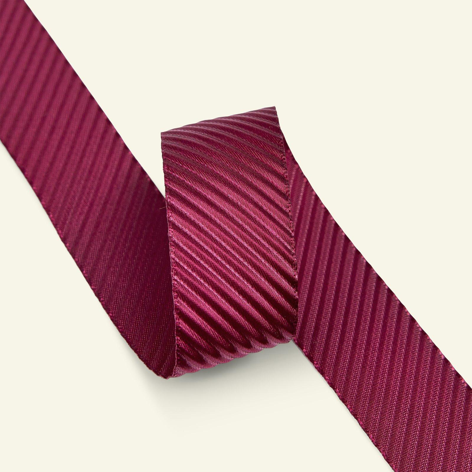 Ribbon fluted 27mm bordeaux 3m 21390_pack