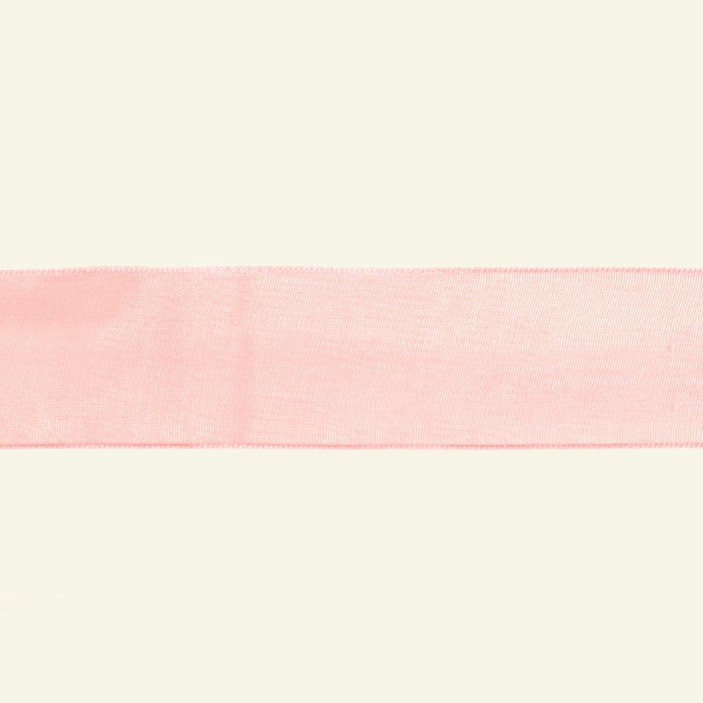 Ribbon organza 25mm light rose 3m 73213_pack