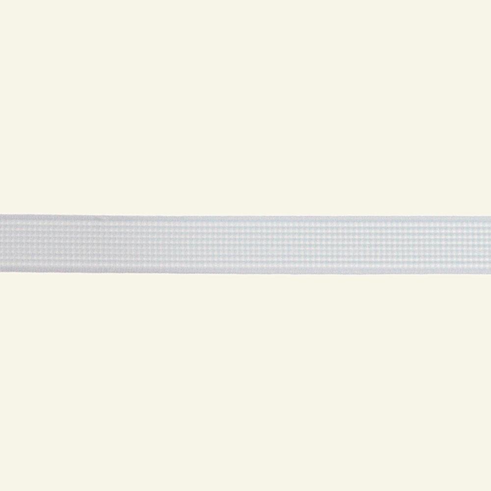 Ribbon rigilene 12mm white - by meters 45612_pack