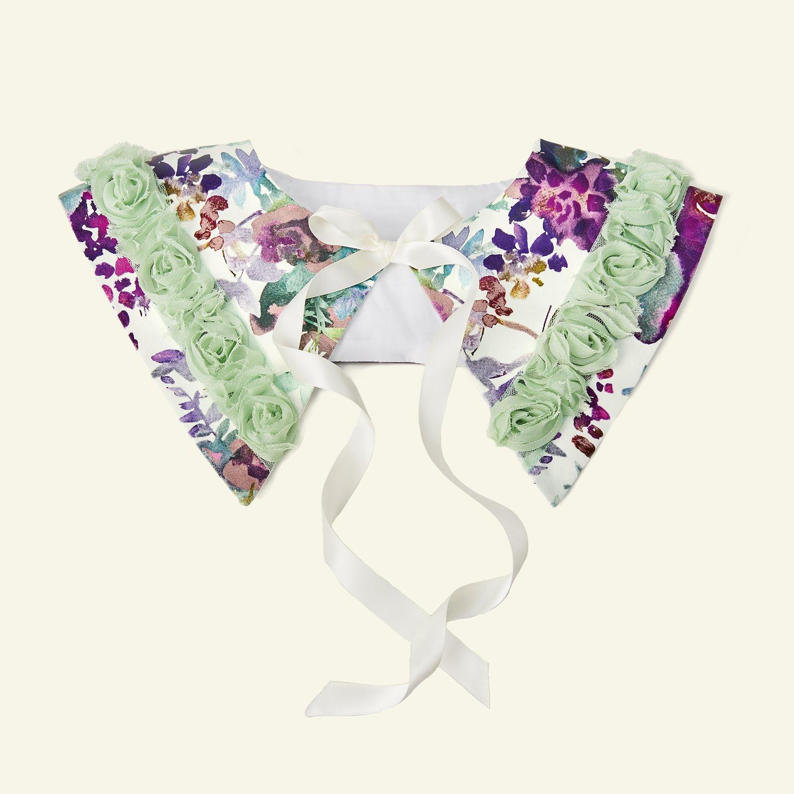 Ribbon tulle flower 60mm mint 2m p90335_460859_82413_27202_sskit