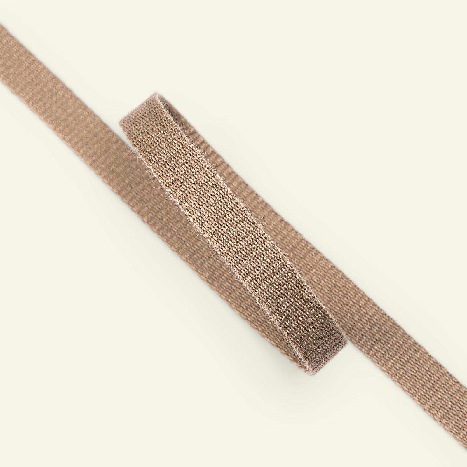 Ribbon woven 10mm dark beige 3m 22319_pack