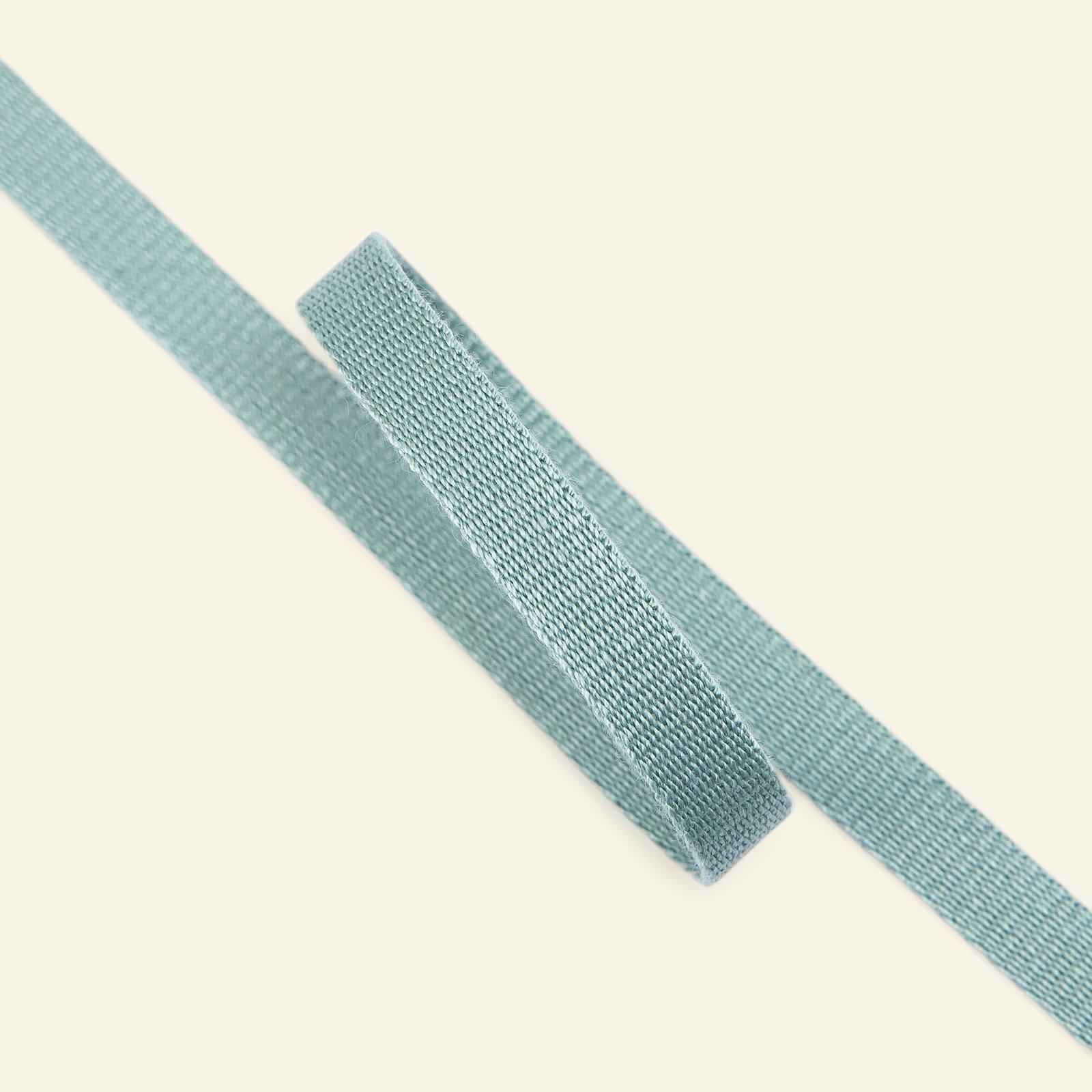 Ribbon woven 10mm dusty aqua 3m 22313_pack