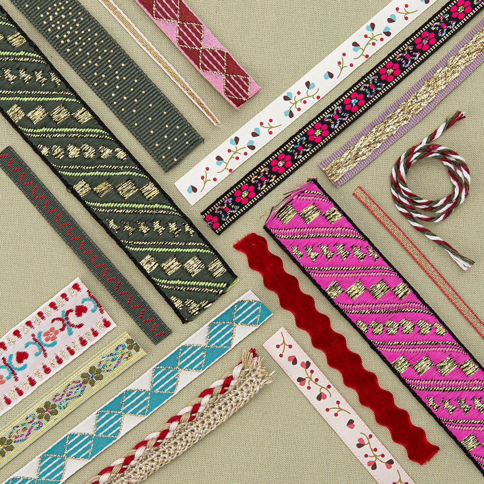 Ribbon woven 10mm light heather 3m 22360_22268_22365_22287_22368_21437_22334_22234_22335_22213_22267_22255_22362_22367_22358_bundle