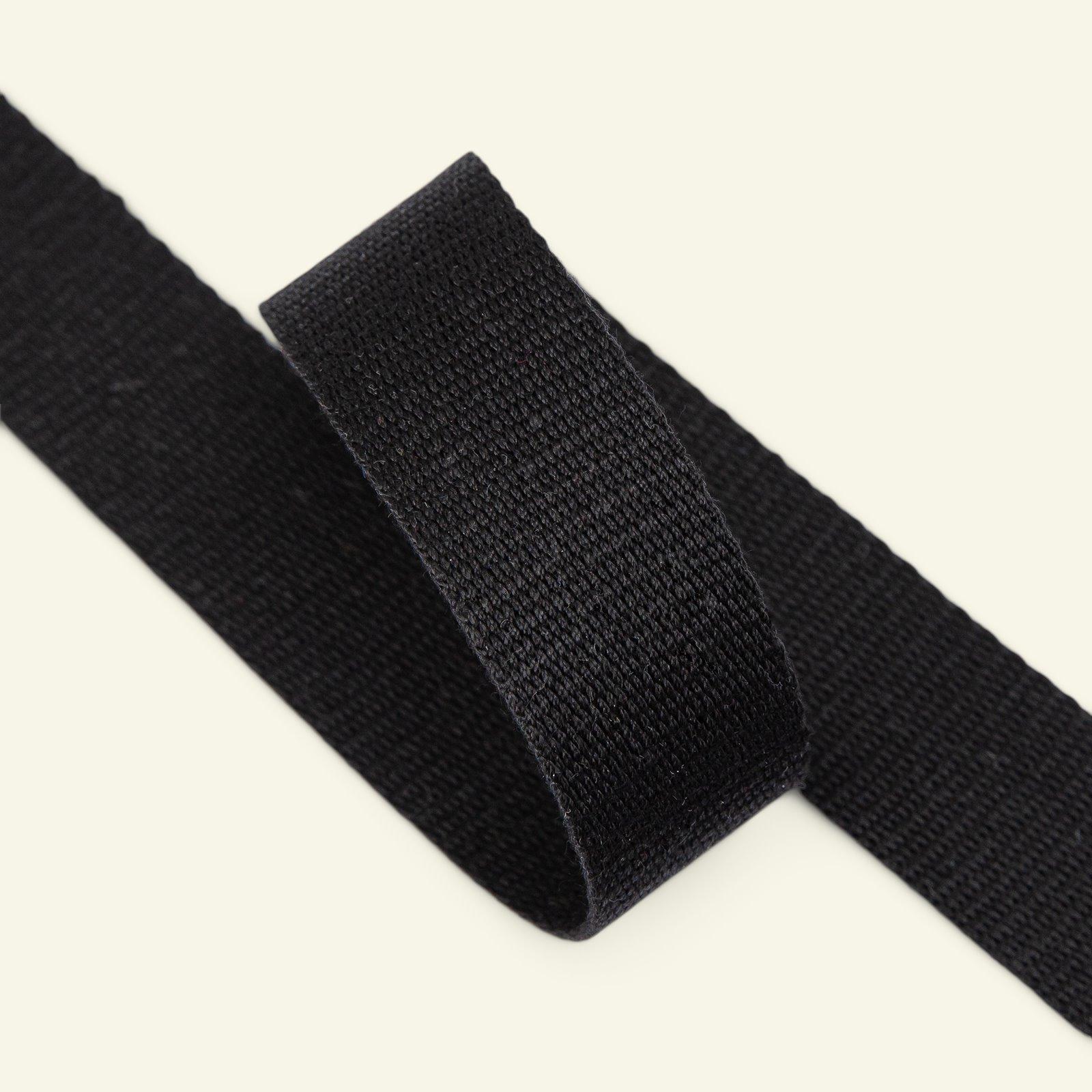 Ribbon woven 25mm black 3m 22325_pack